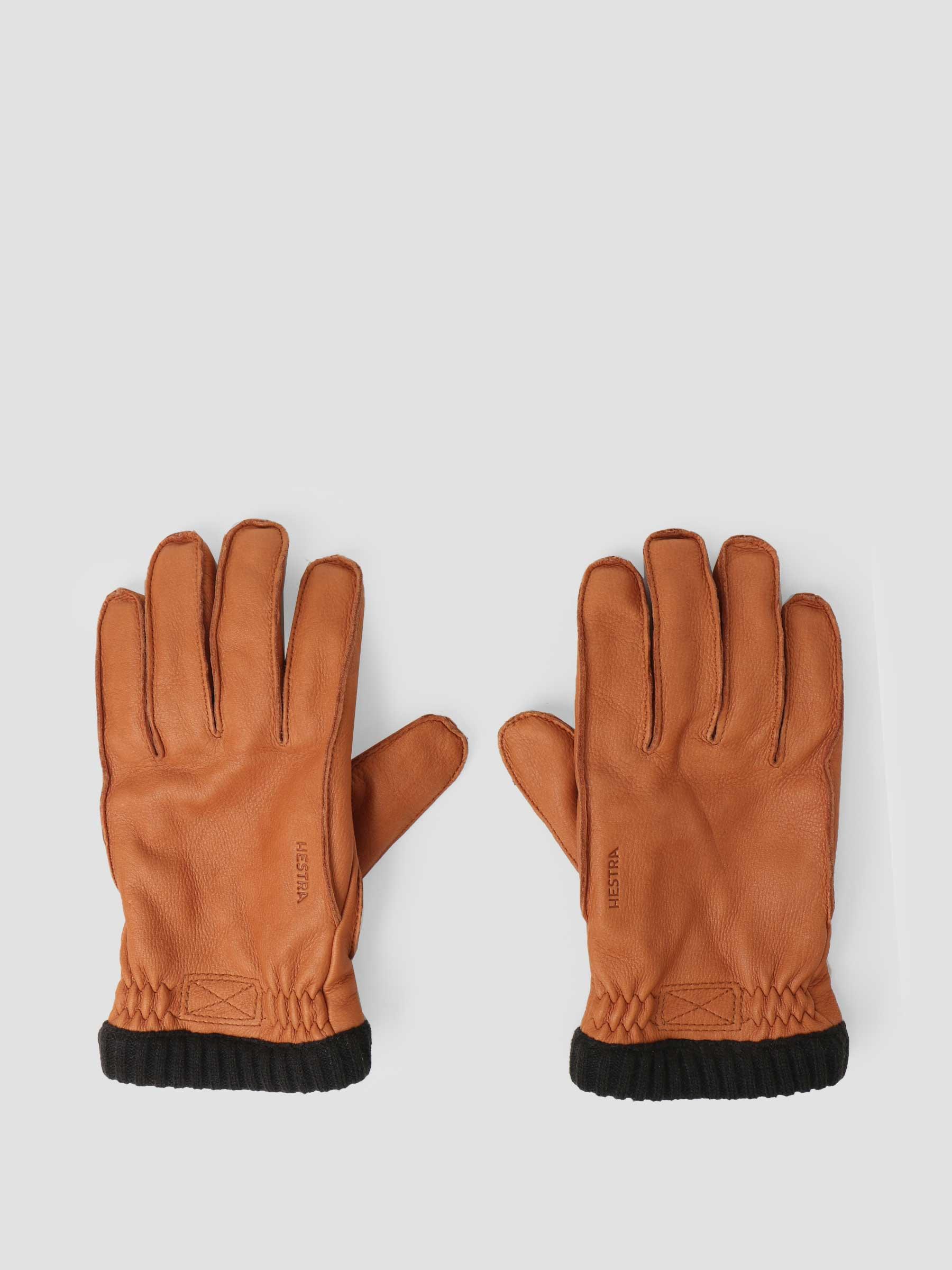 Hestra Hestra Deerskin Primaloft Rib Glove Cork 20210