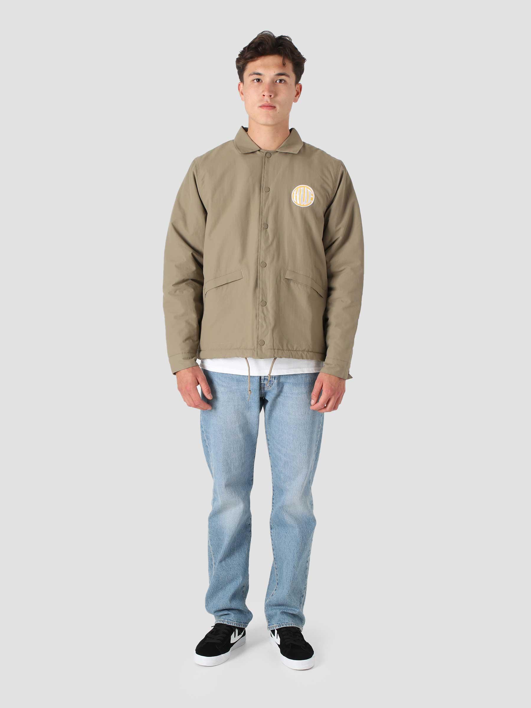 Hi-Fi Coaches Jacket Khaki JK00317-KHAKI