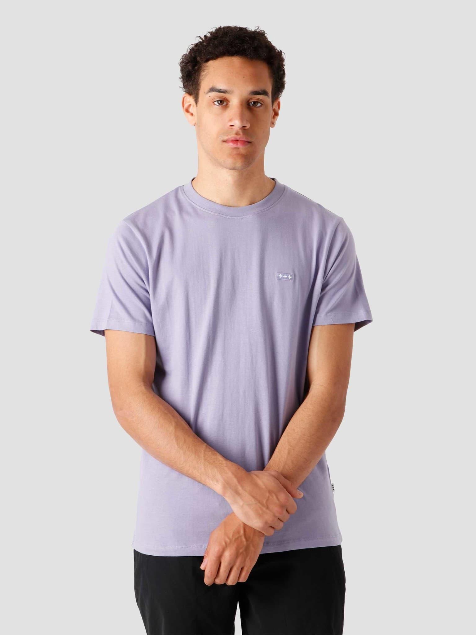 QB03 Patch Logo T-shirt Dusty Lilac
