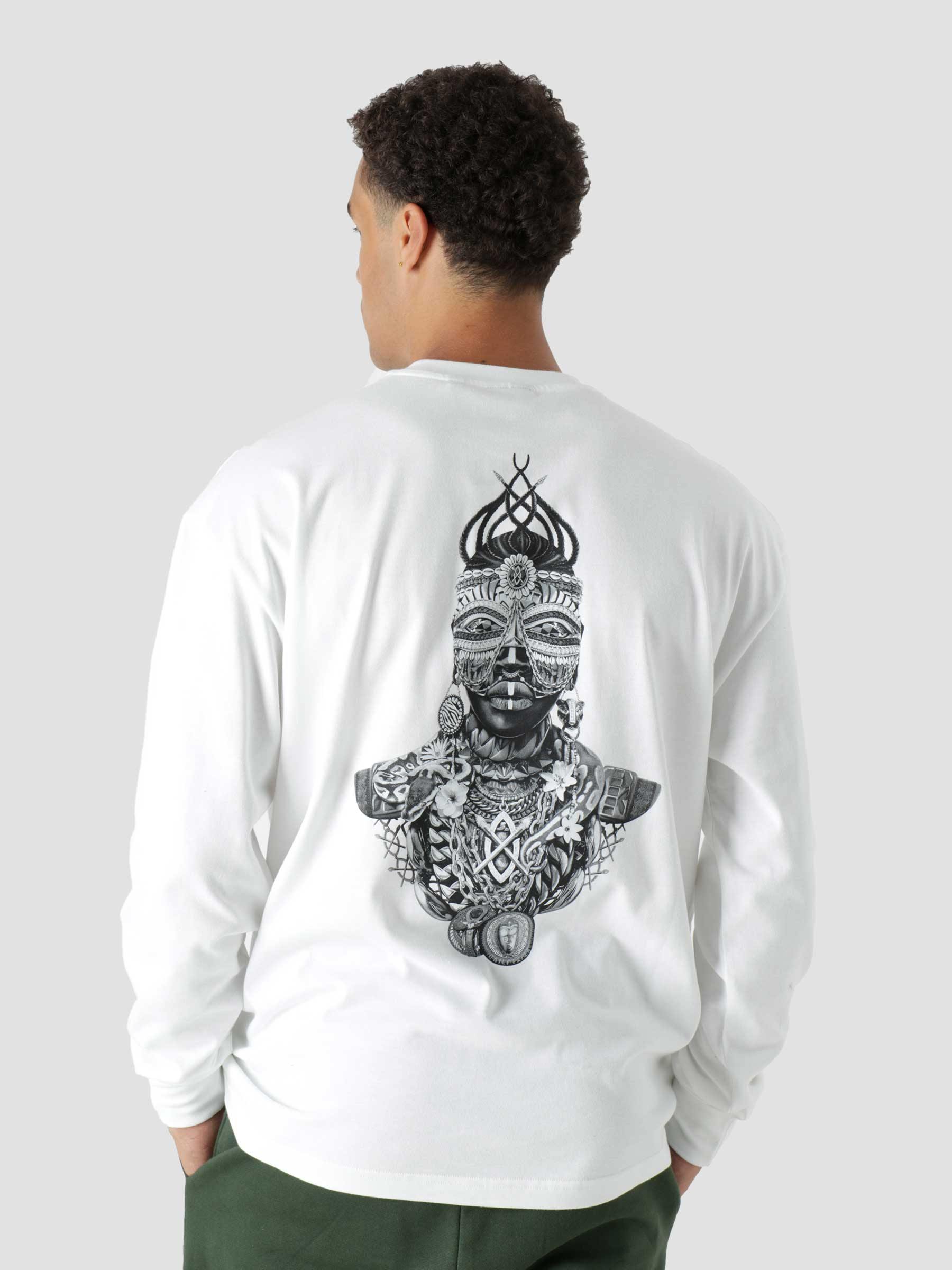 Linton Ls T-Shirt White 2121016