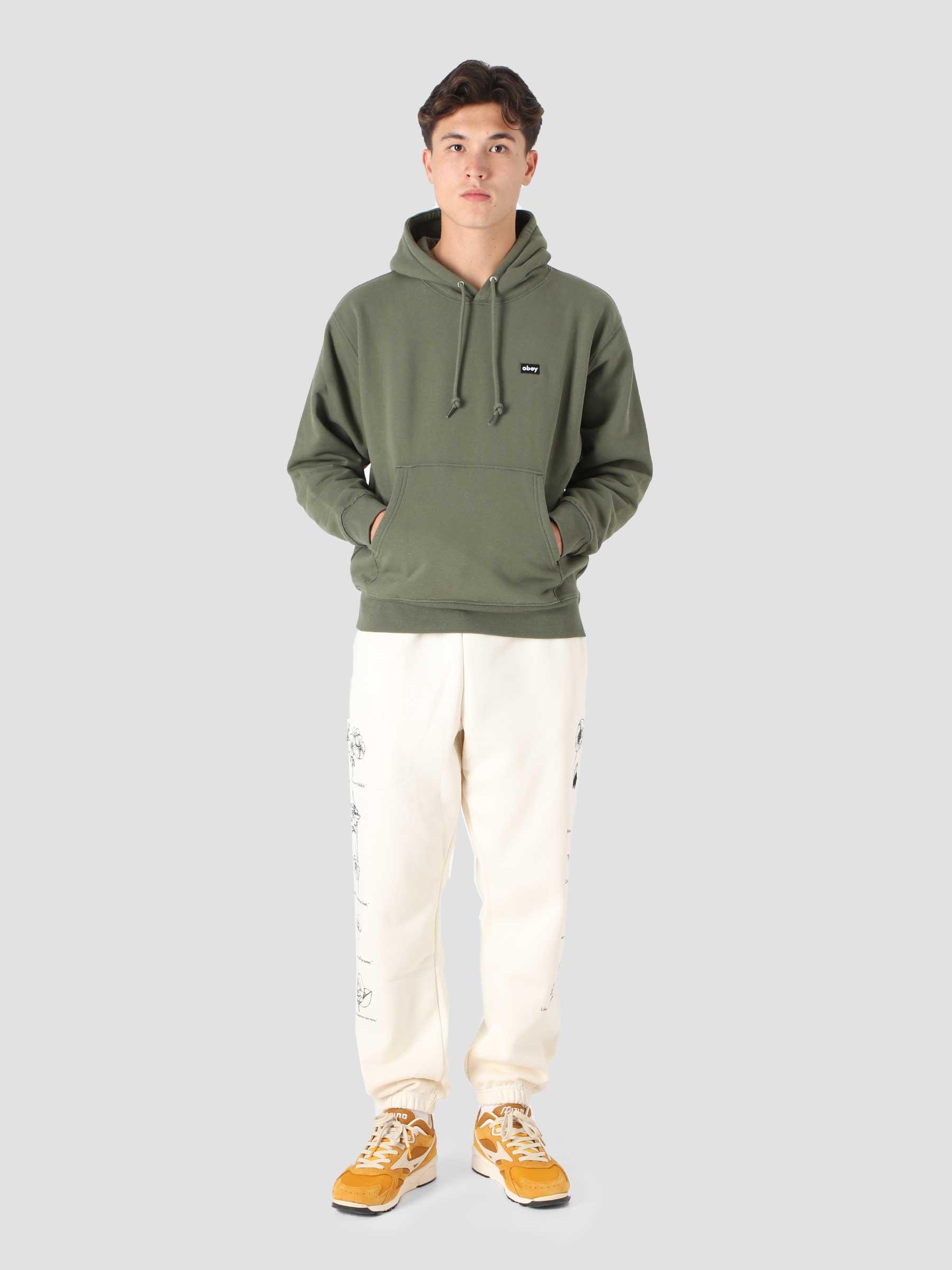 Mini Box Logo Hood Hood Fleece (Embellished) Thyme 112470133