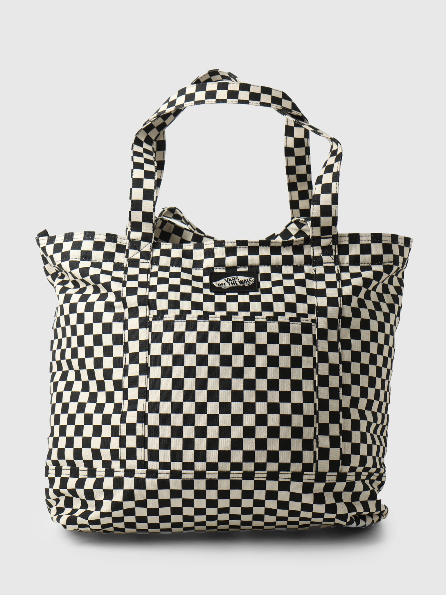 Wm Tell All Zip Tote Checkerboard VN0A5I1K7051