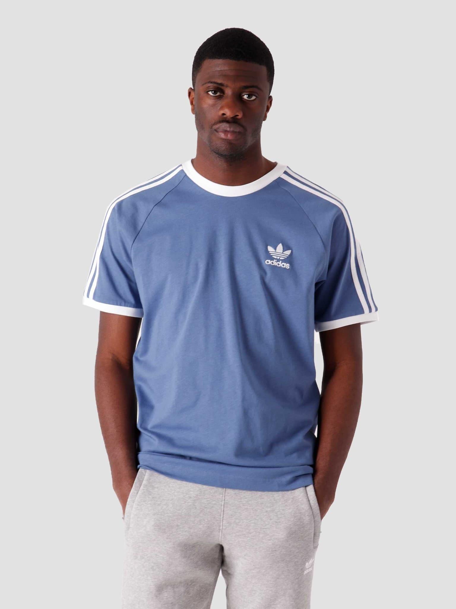 3 Stripes T-Shirt Creblue GN3501