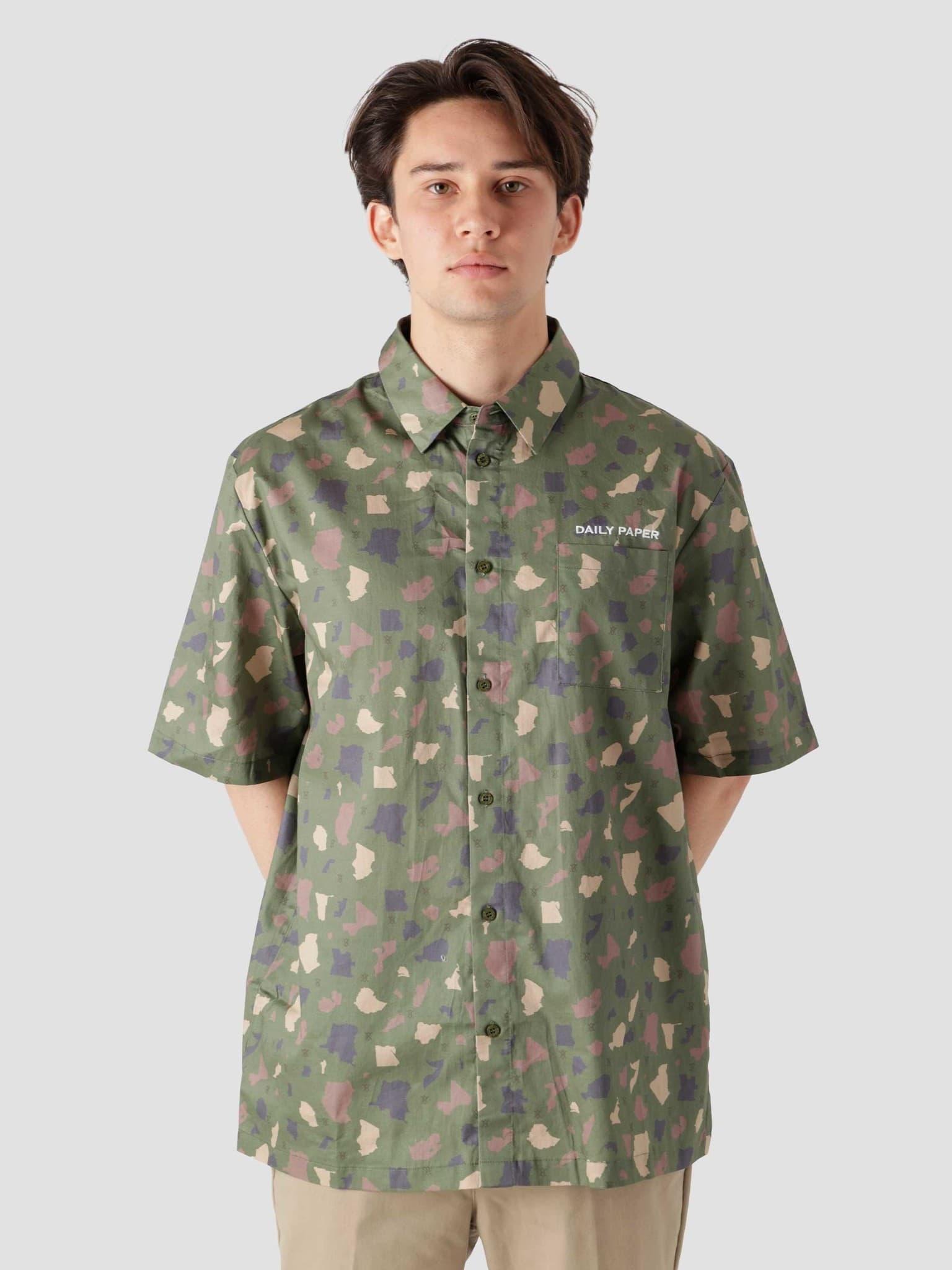 Recomo Shirt Green Camo 2113006