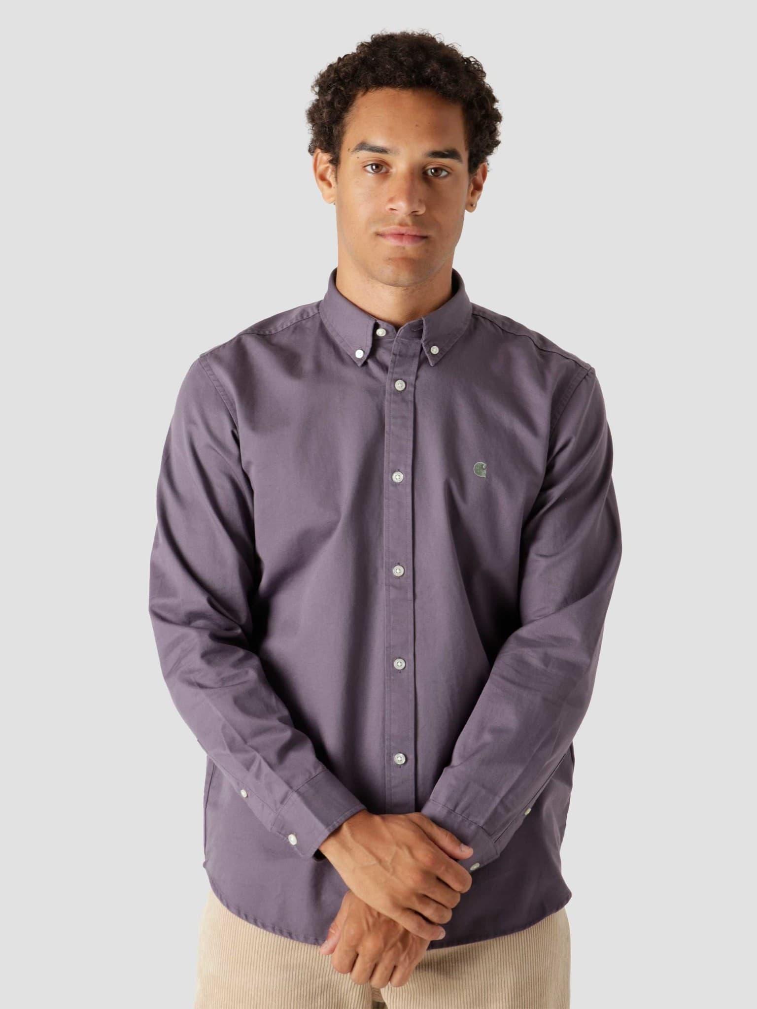 Longsleeve Madison Shirt Provence Eucalyptus I023339