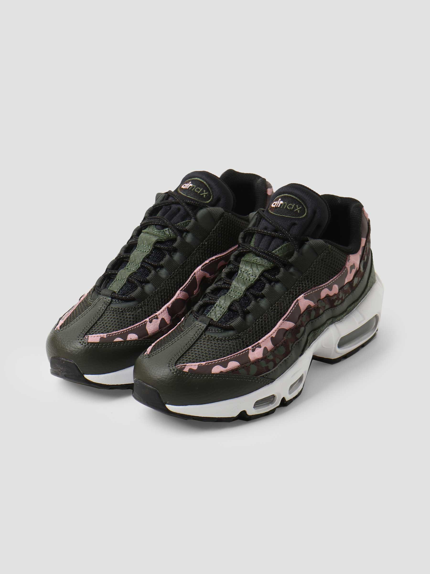 Wmns Nike Air Max 95 Brown Basalt Black Sequoia Pink Glaze DN5462-200
