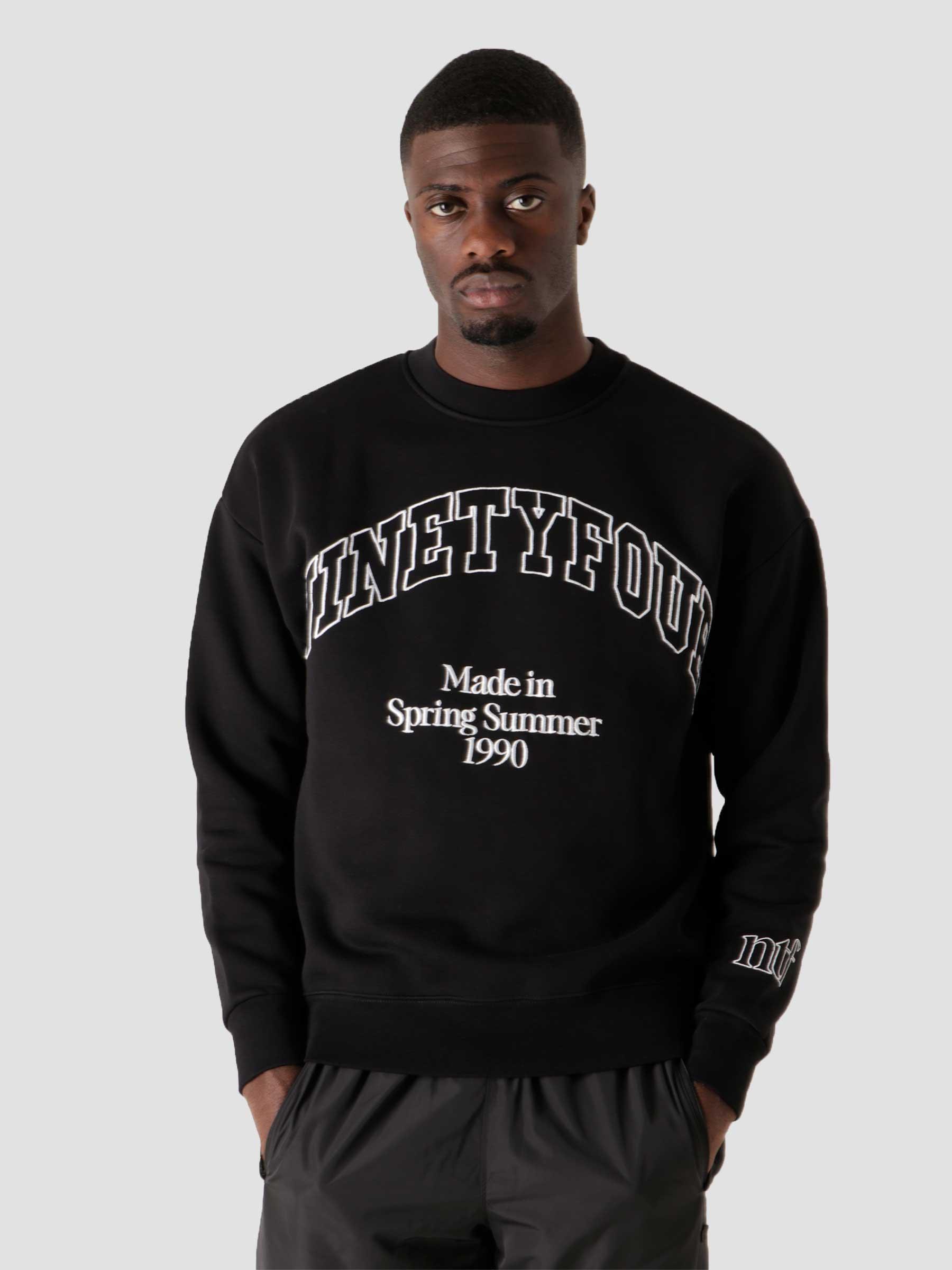 NTF College Sweater Black