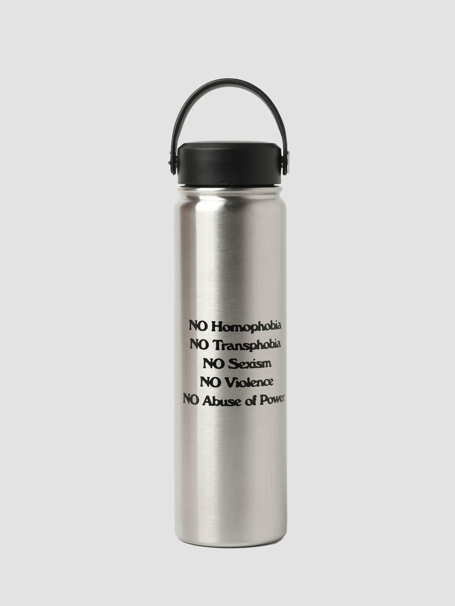 Protest Bottle Water Bottle Silver Black 100320004