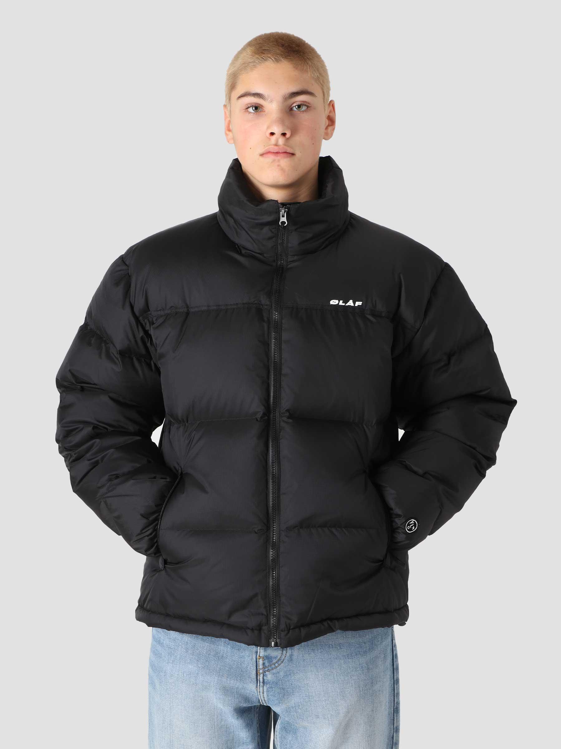 OLAF Puffer Jacket Black