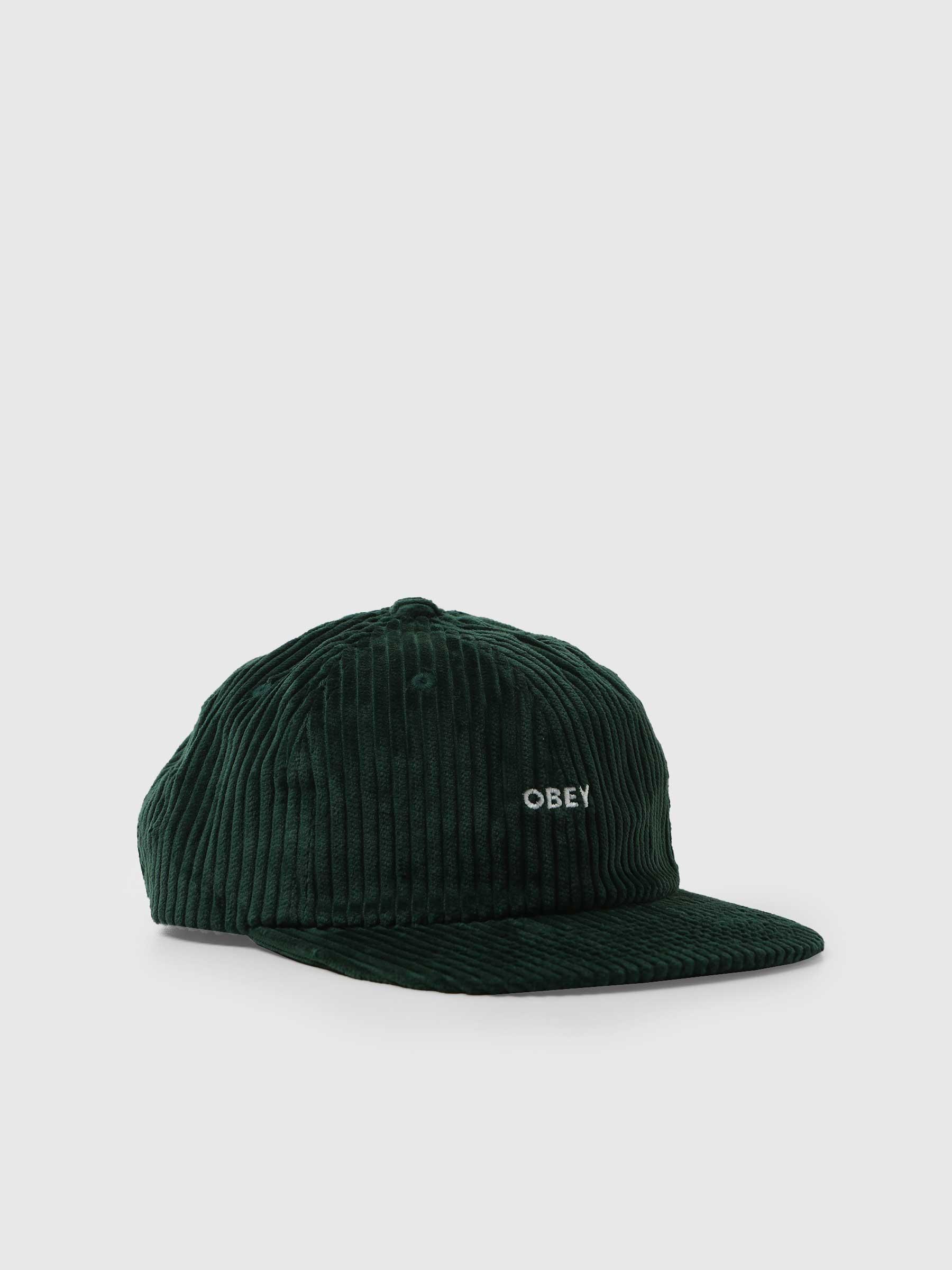 Bold Cord 6 Strapback 6 Panel Hat Emerald 100580286