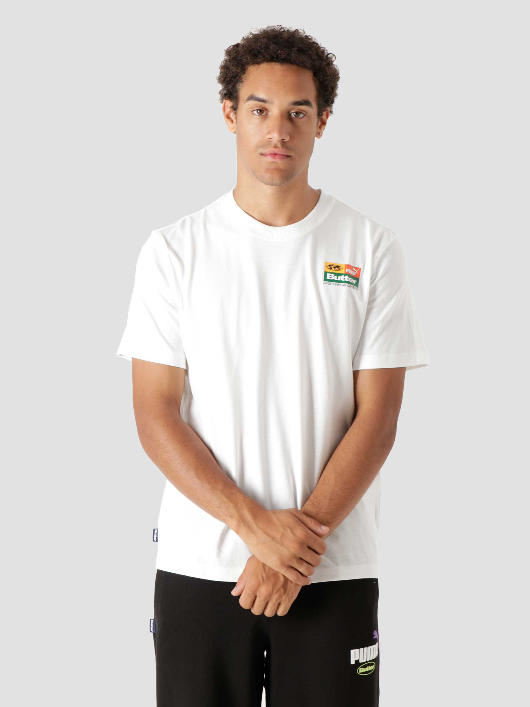 Puma X Butter Goods Graphic T Shirt Puma White 53244202
