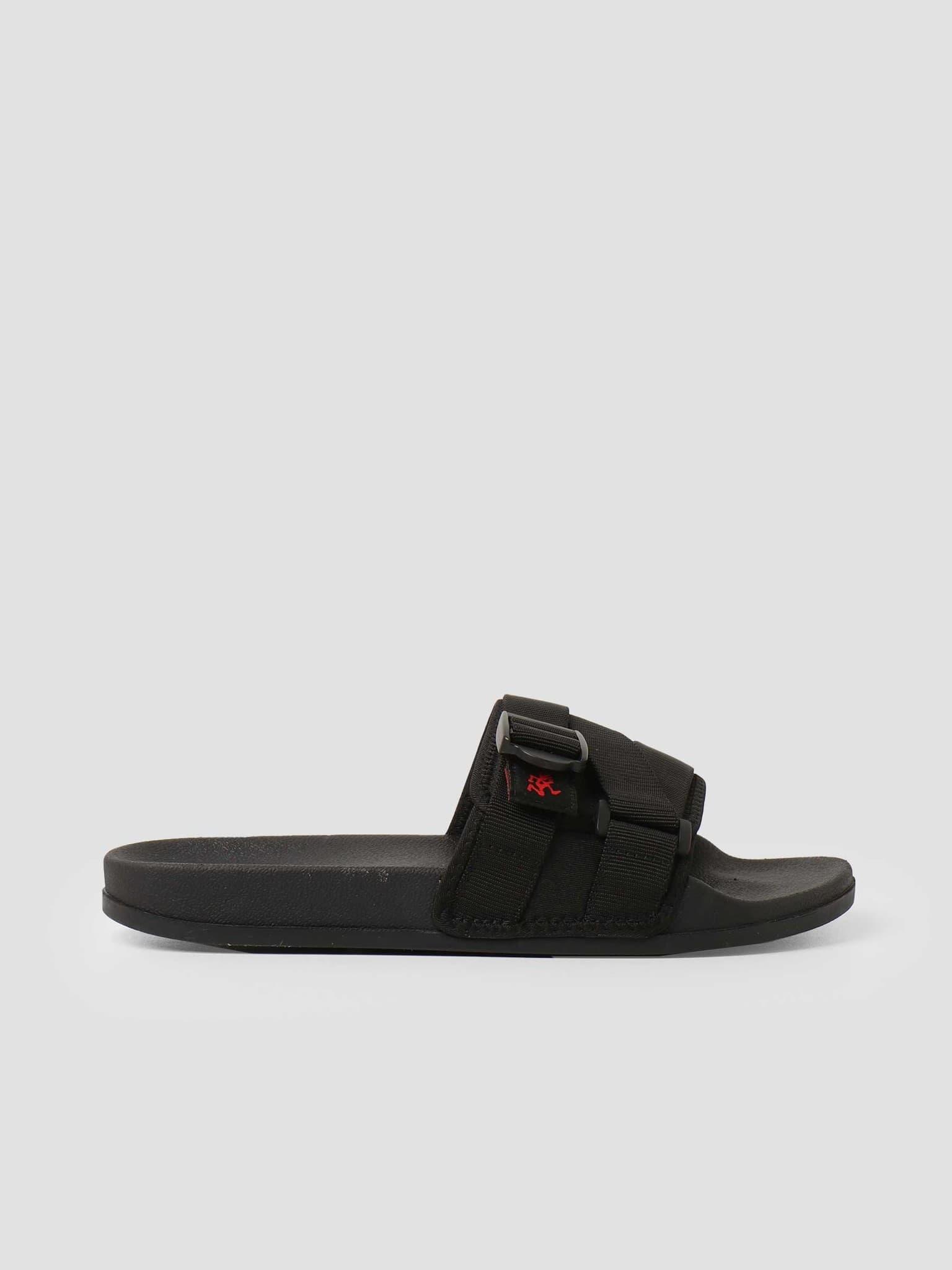 Slide Sandals Black GRF-004