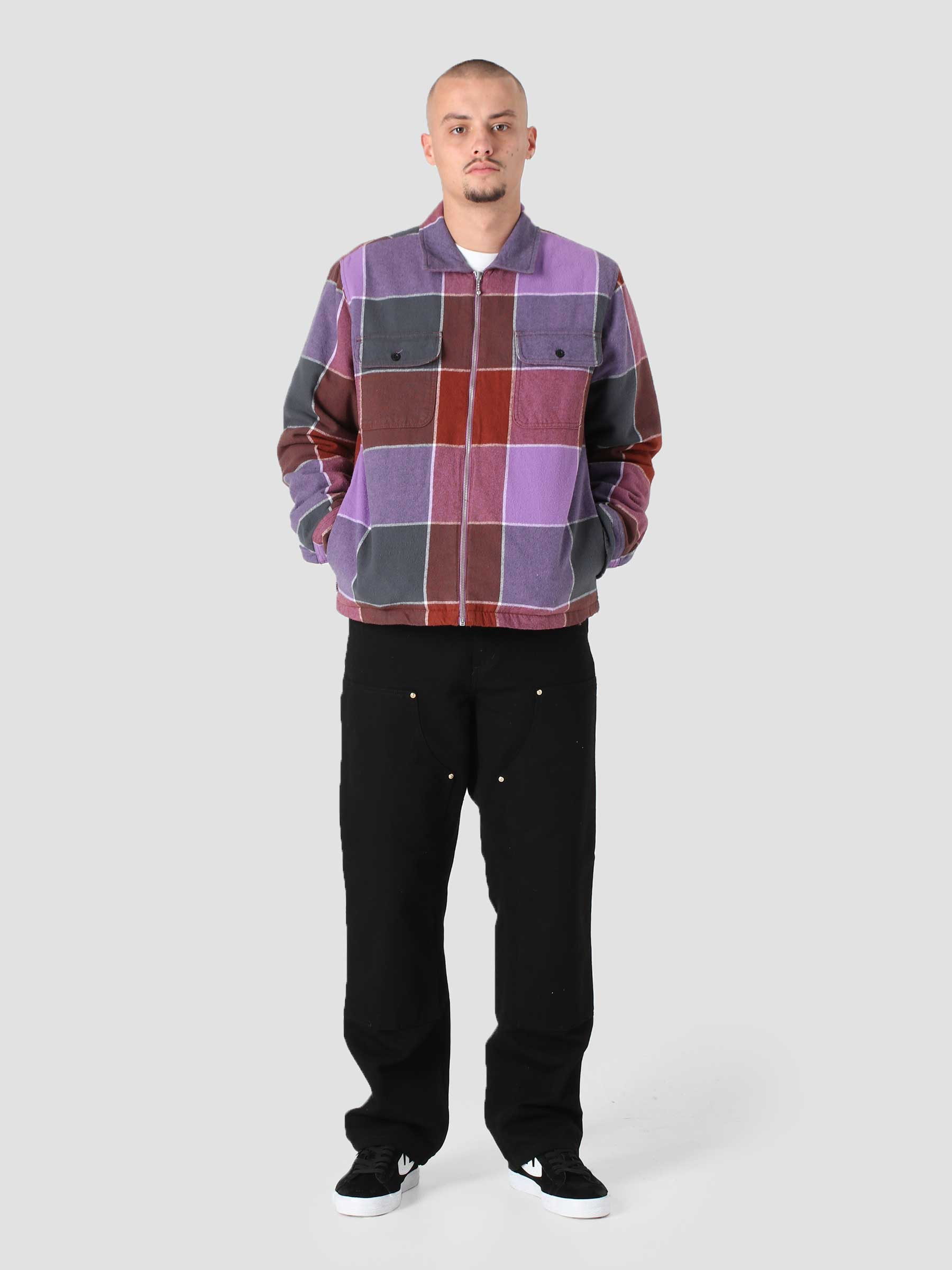 Victoria Shirt Jacket Shirt Jacket Purple Multi 121160026