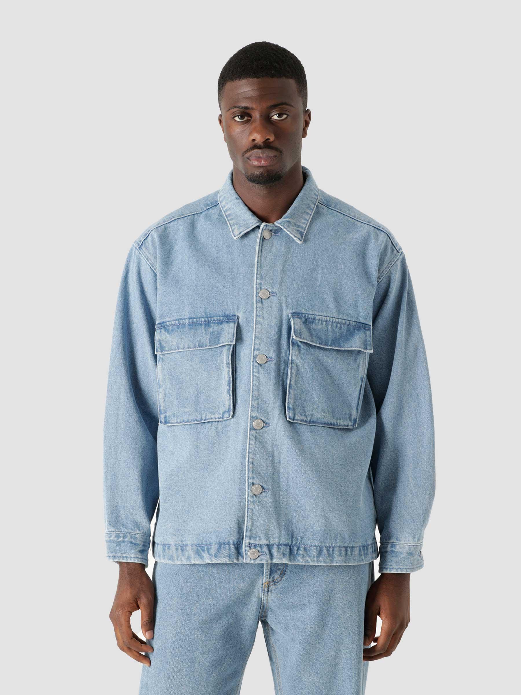 Morrison Jacket Jackets Light Indigo 121800474