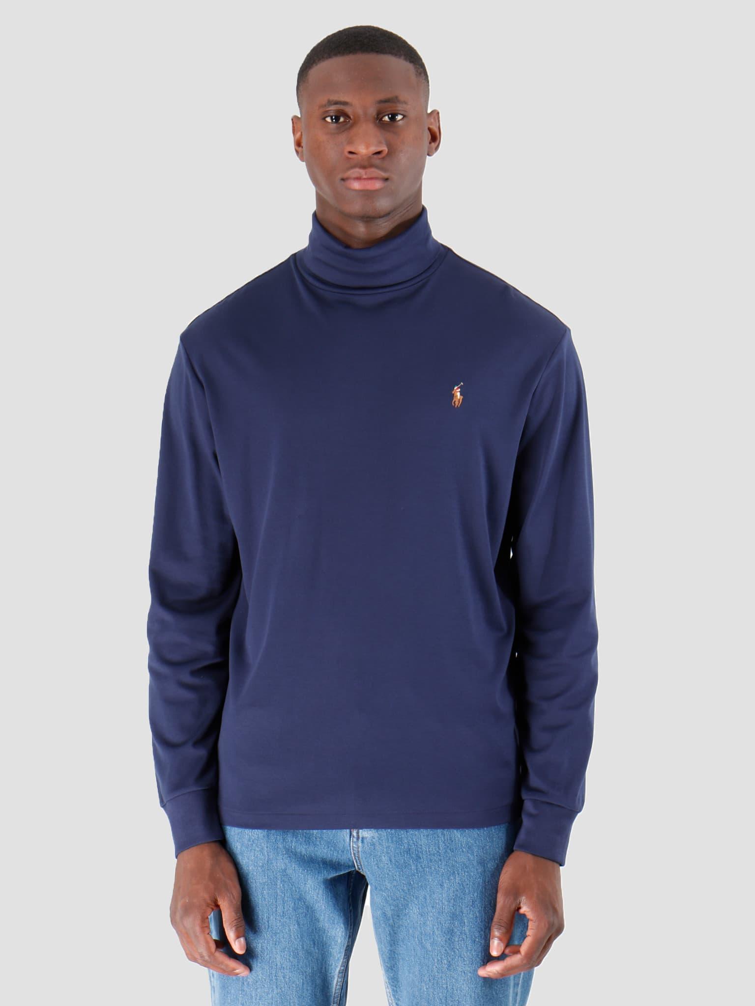 Lsturtlem1 Long Sleeve Knit French Navy 710760126003