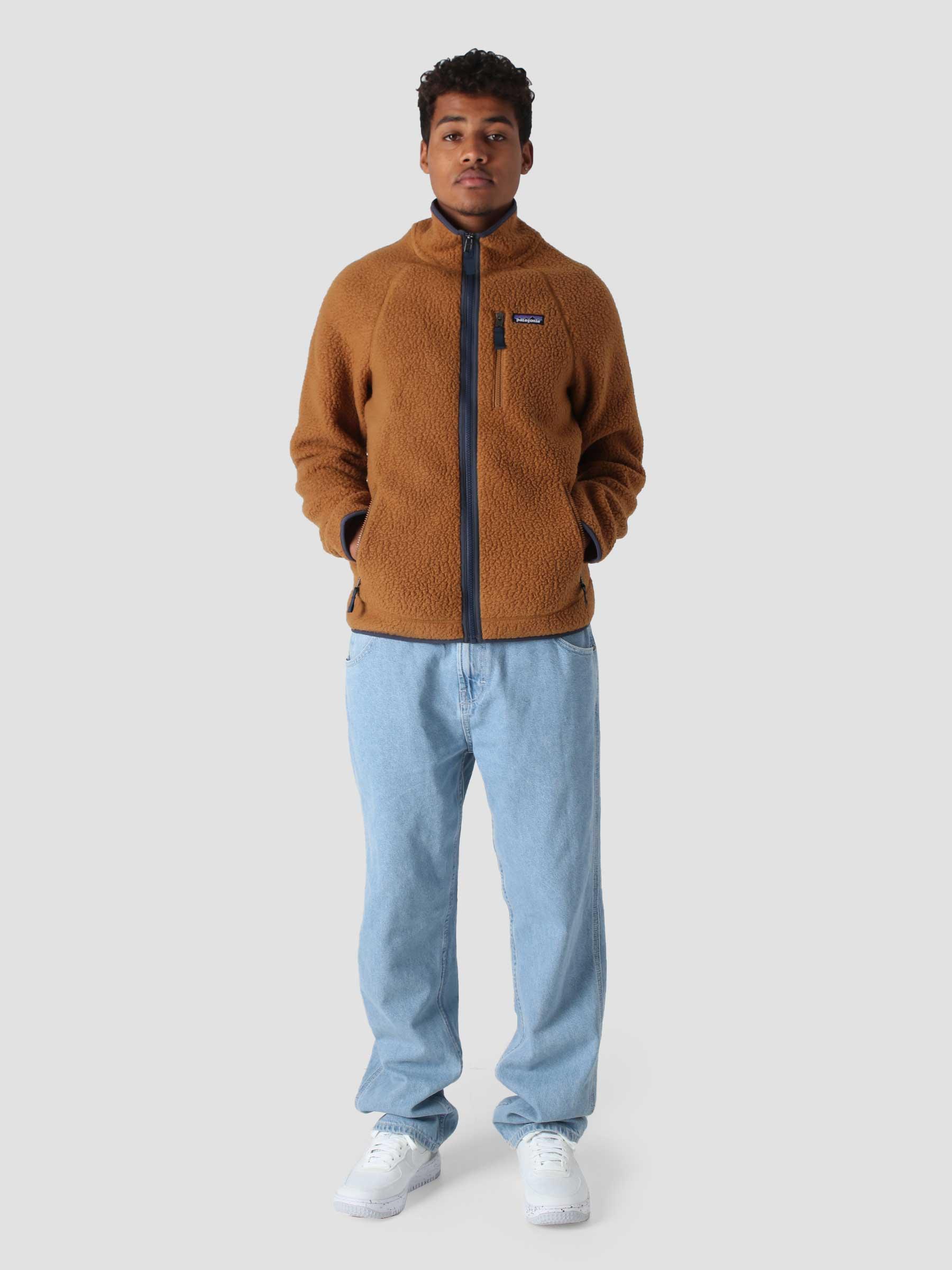 M's Retro Pile Jacket Bear Brown 22801