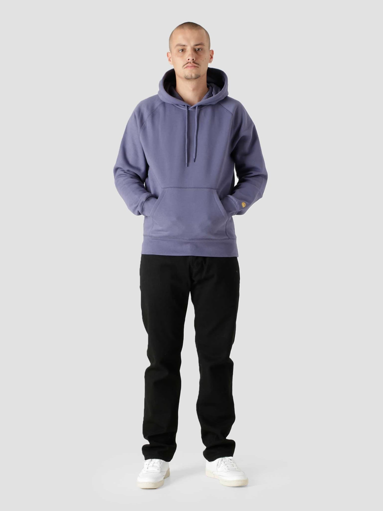 Hooded Chase Sweat Cold Viola Gold I026384