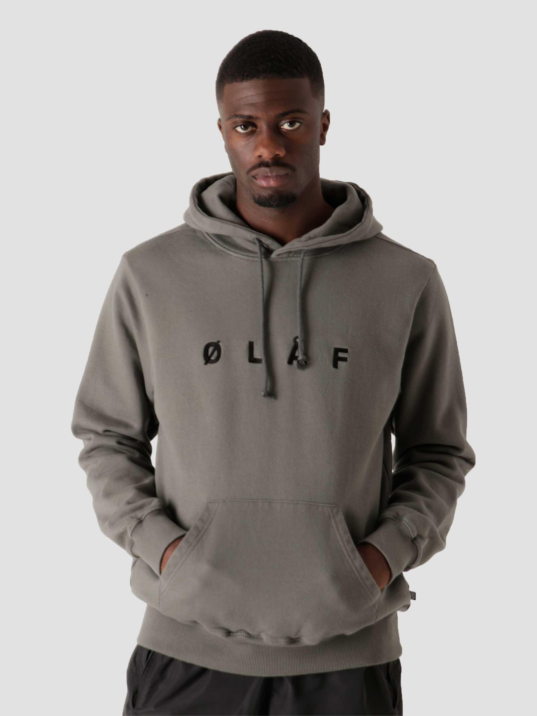 OLAF Chainstitch Hoodie Grey