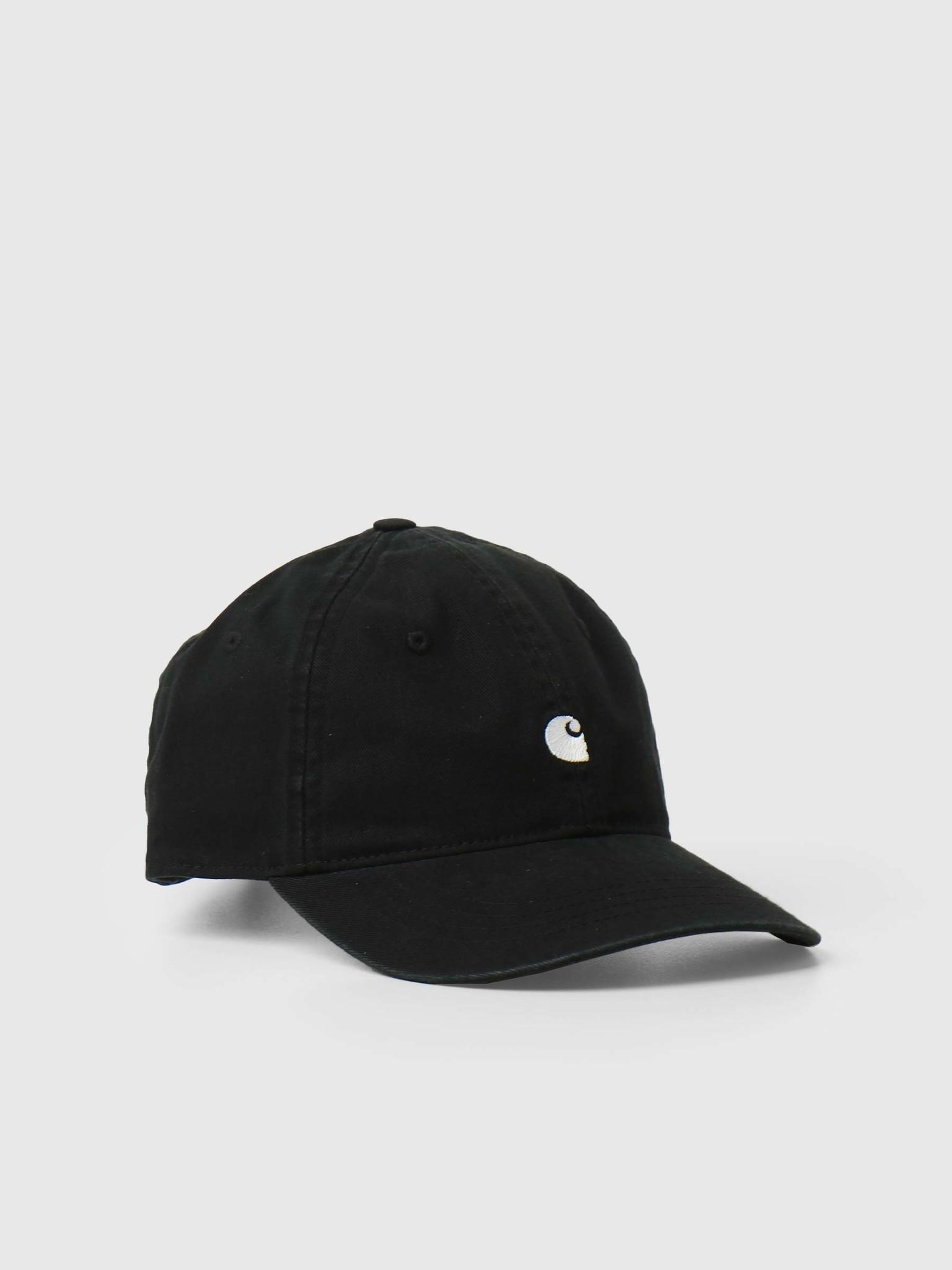 Madison Logo Cap Black White I023750