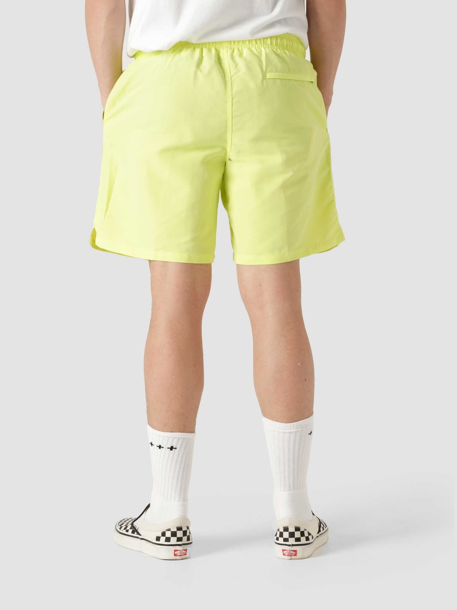 Smooth Stock Water Short Lime 113133