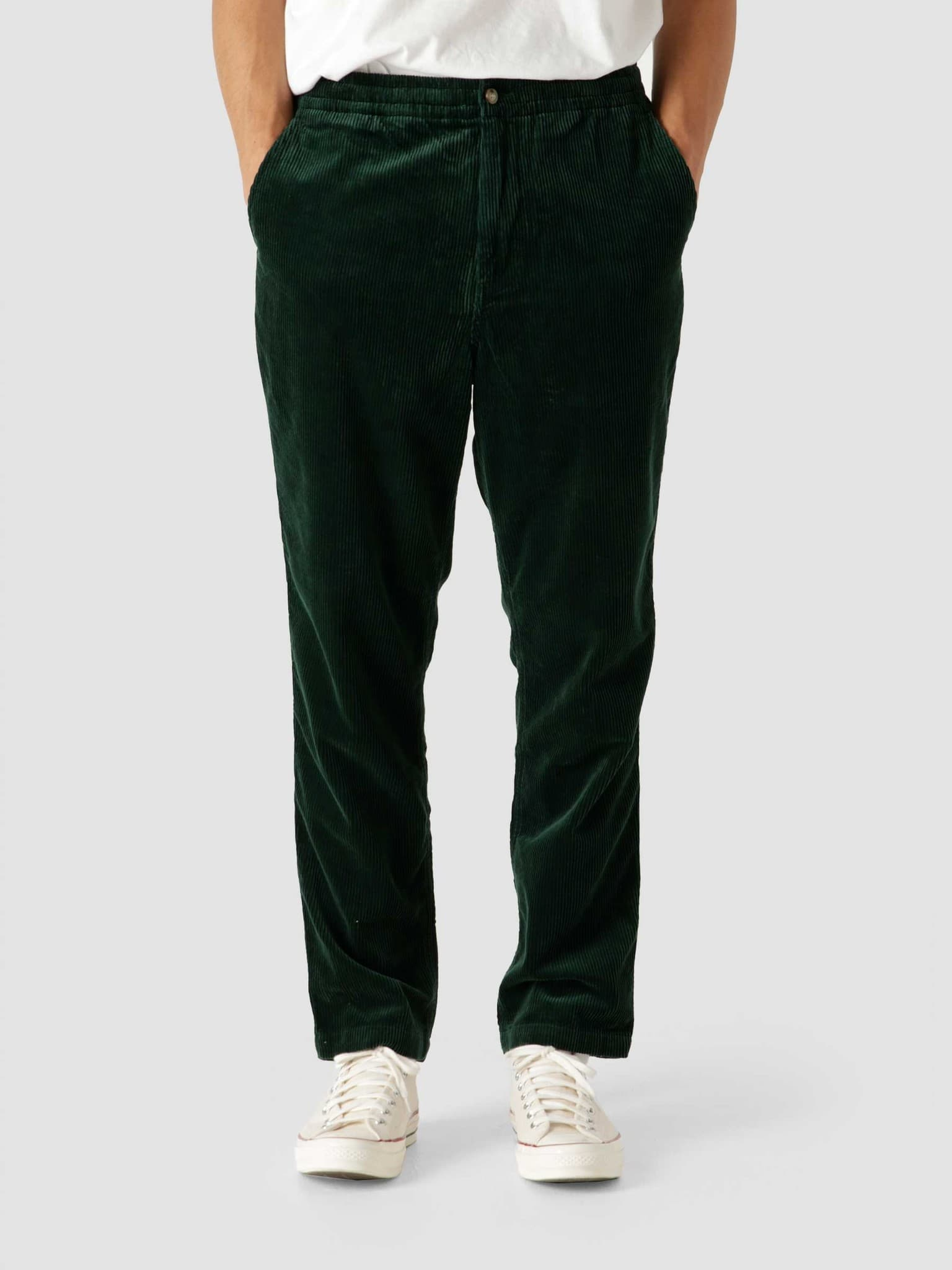 Classic Fit Prepster Flat Pant College Green 710811523002