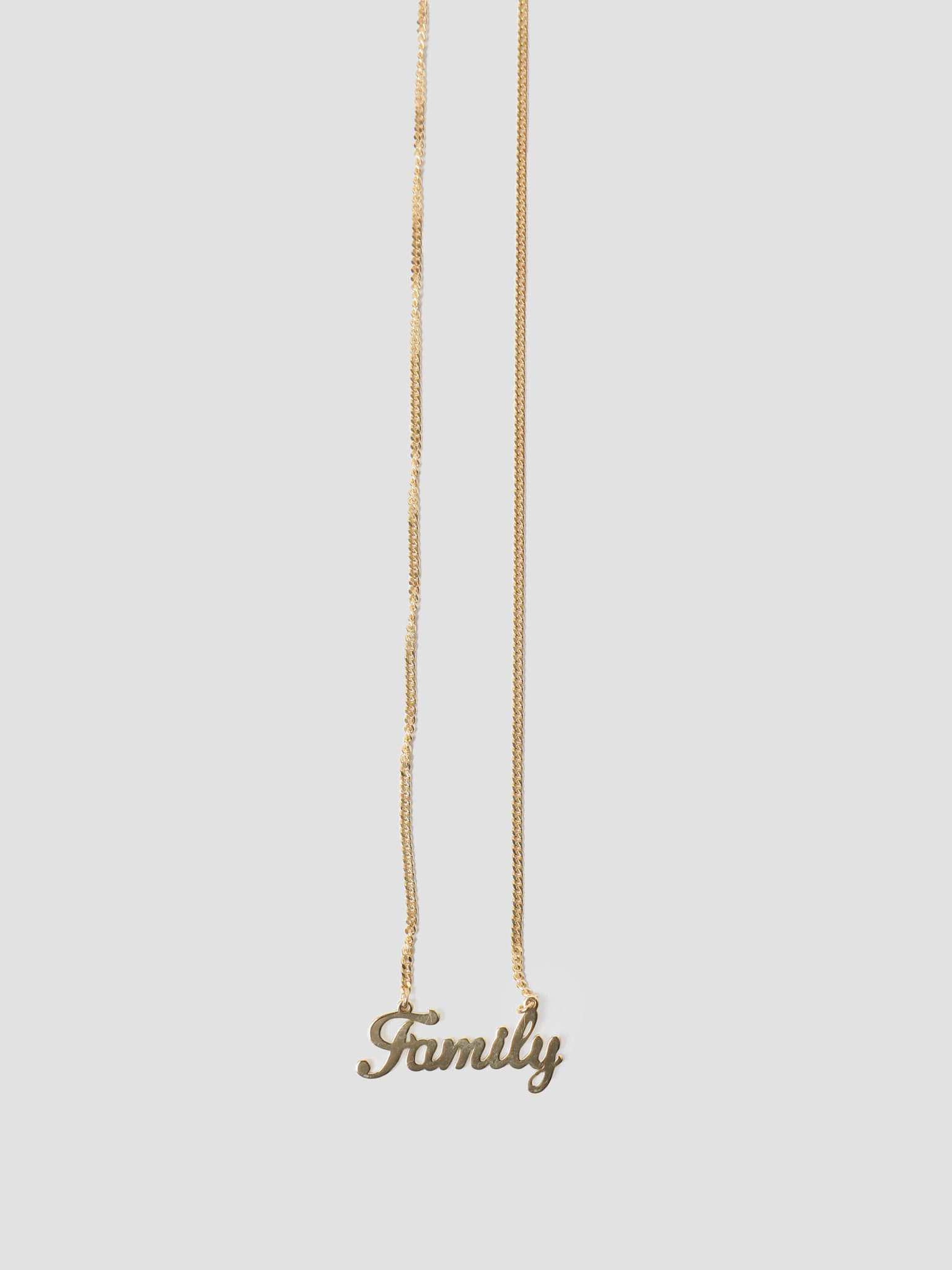 by Freshcotton Family Necklace 55cm 14K Gold Plated