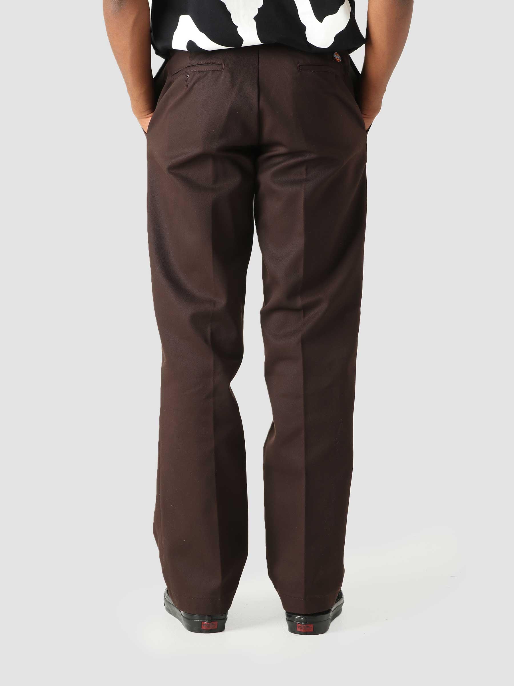 Original Fit Straight Leg Work Pant Dark Brown DK000874DBX