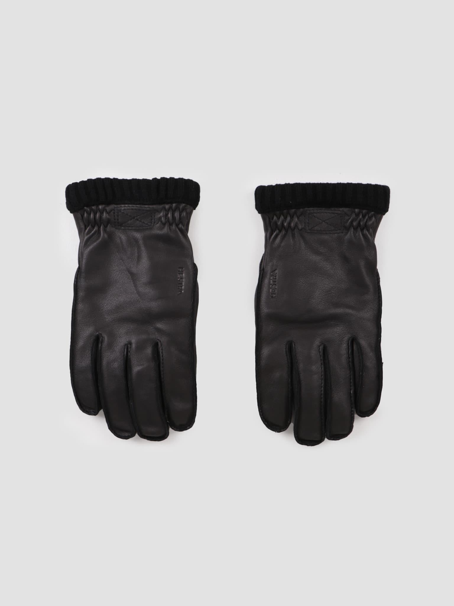 Deerskin Primaloft Rib Glove Black 20210