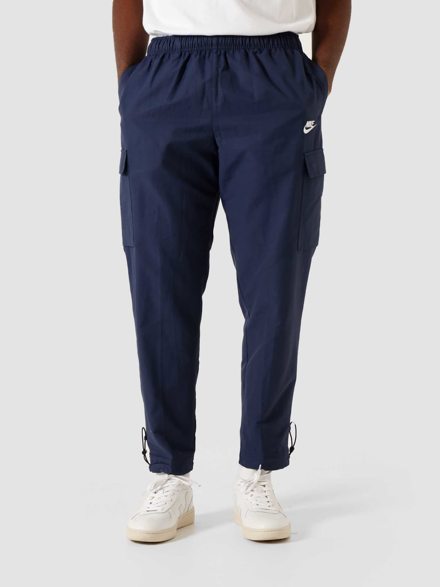 NSW Pant Woven Players Midnight Navy White CU4325-410