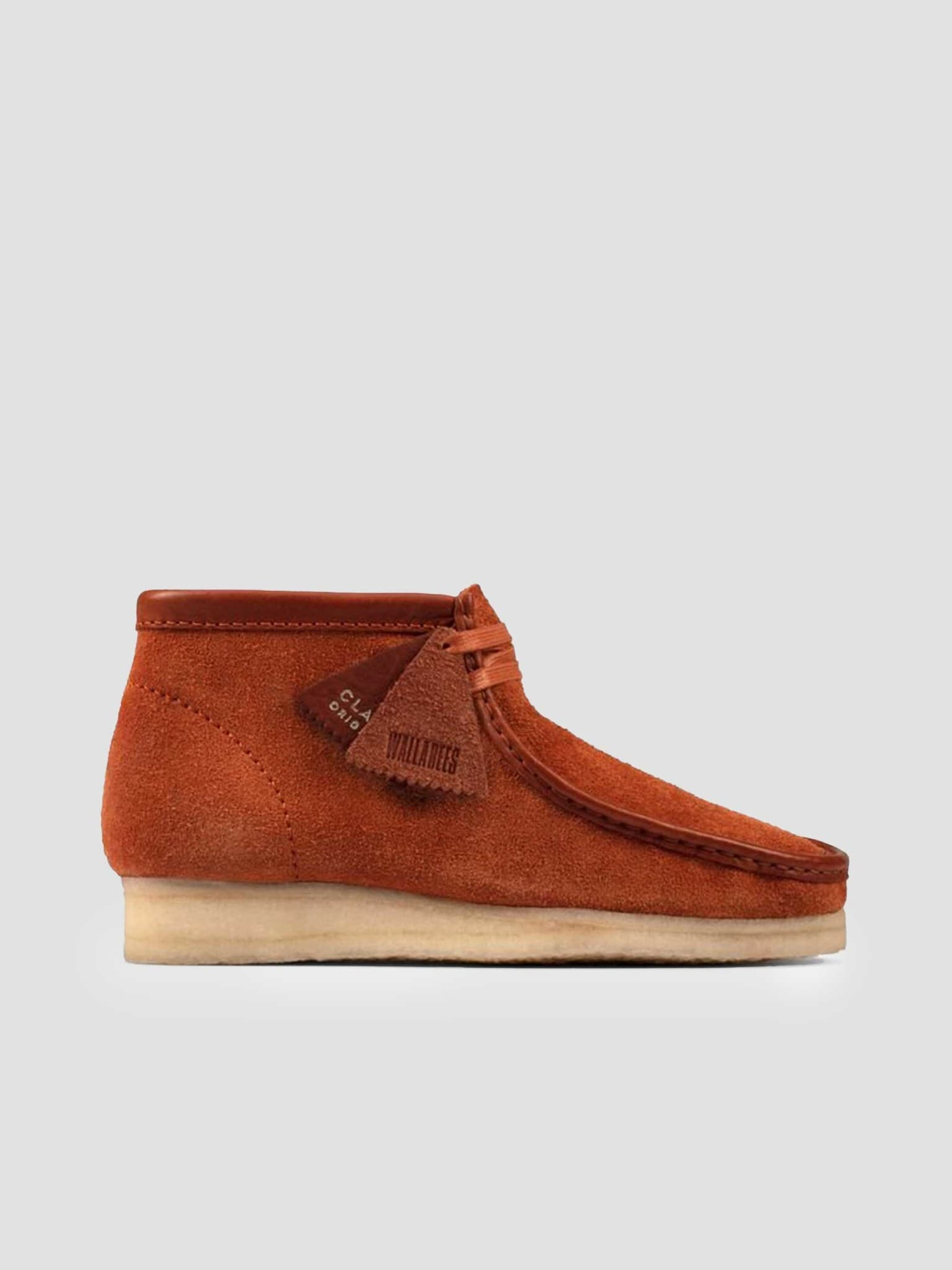Wallabee Boot Tan Hairy Suede