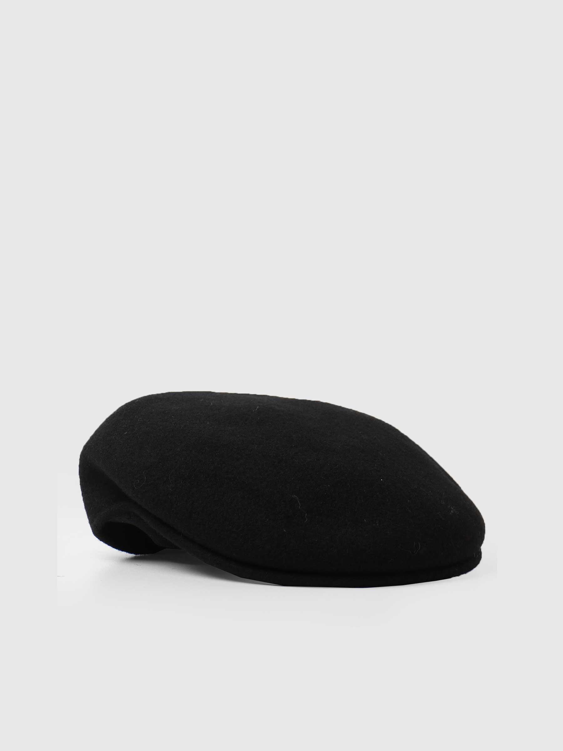504 Kangol Cap Black 0258BC-BK001