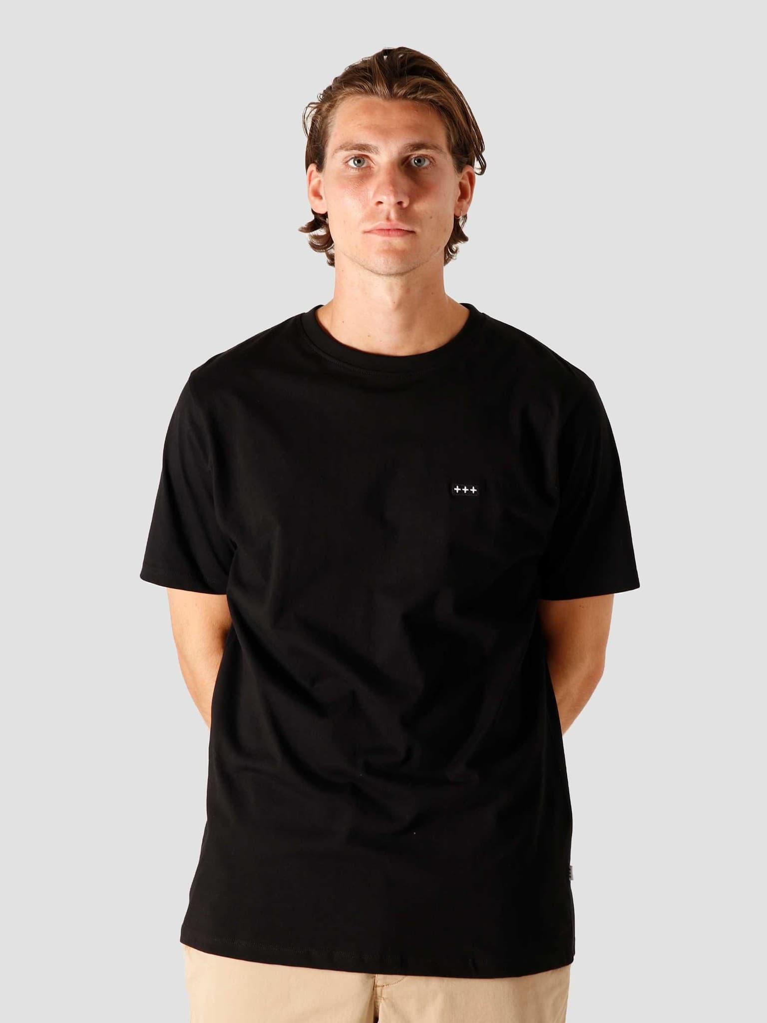 QB03 Patch Logo T-shirt Black