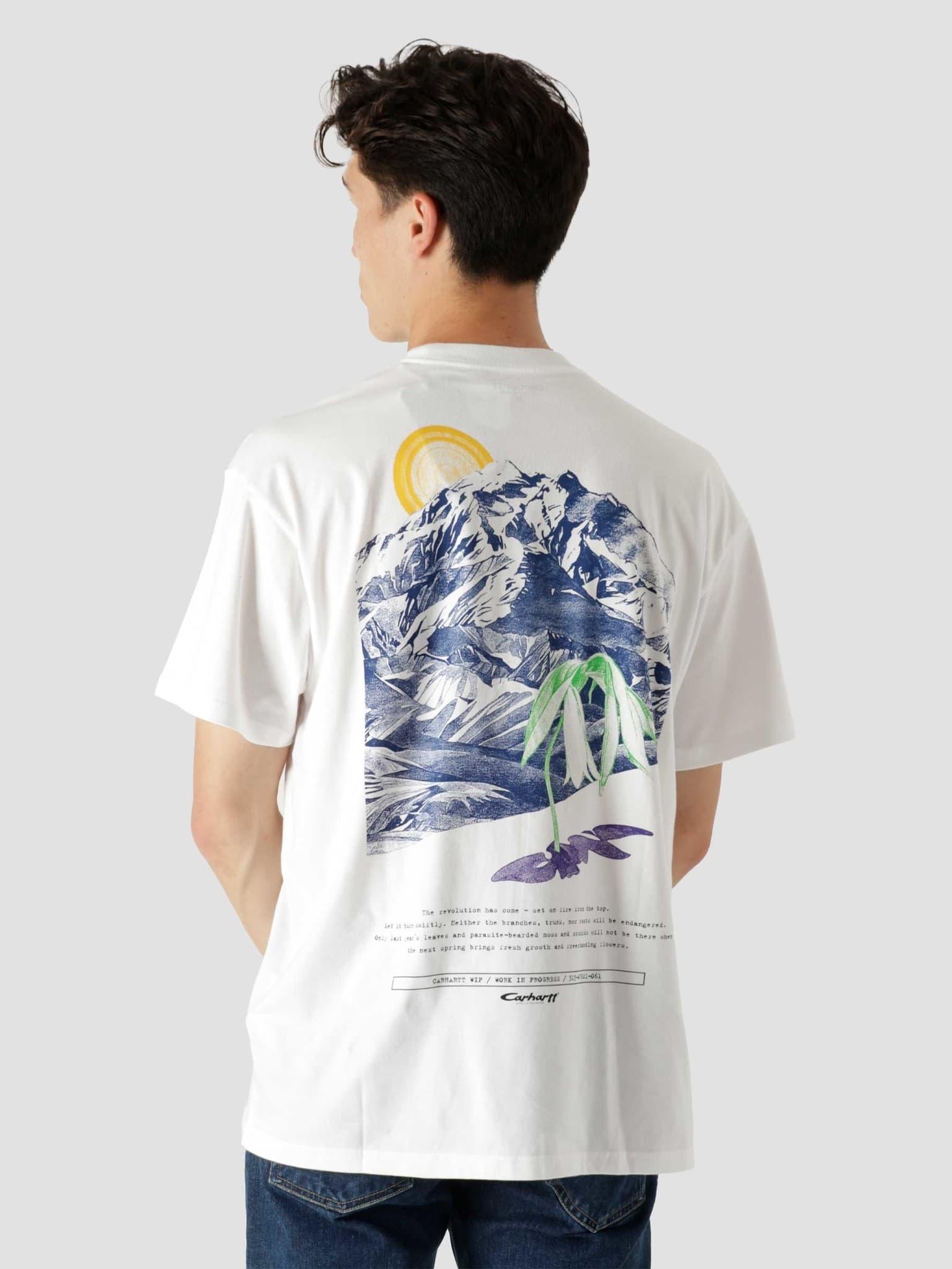 Mountain T-Shirt White I029615