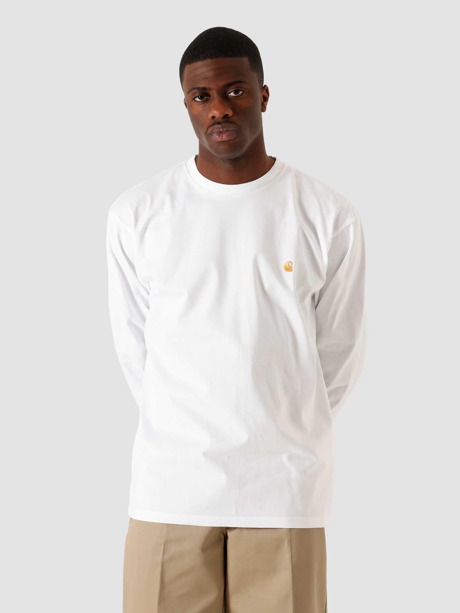 Longsleeve Chase T-Shirt White Gold I026392