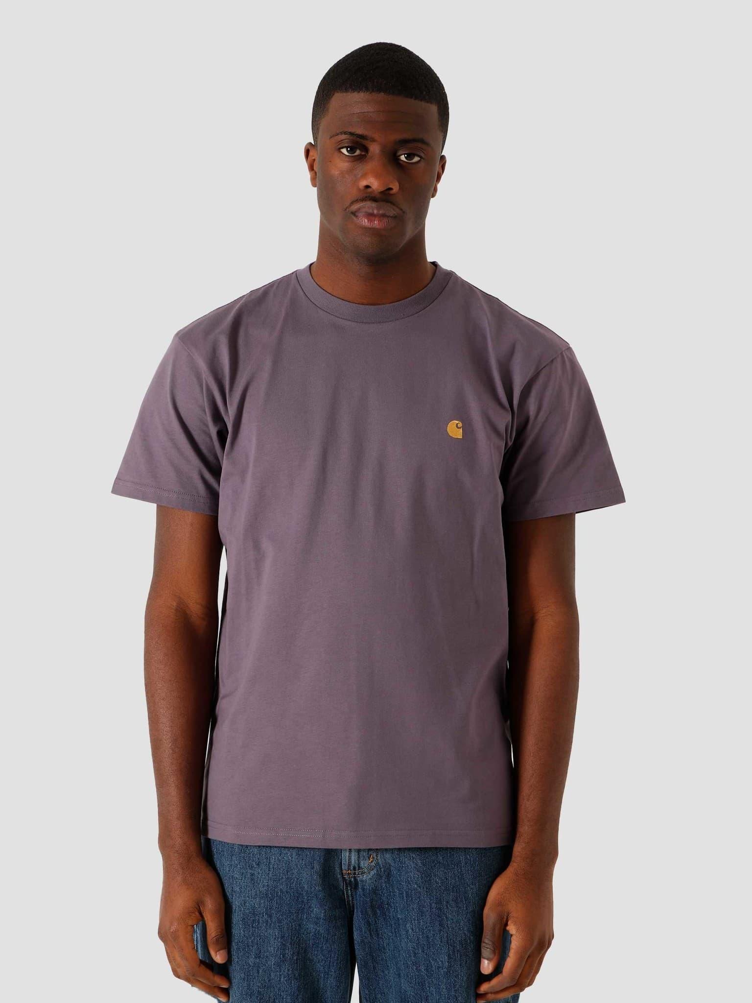 SS Chase T Shirt Provence Gold I026391-0AF90