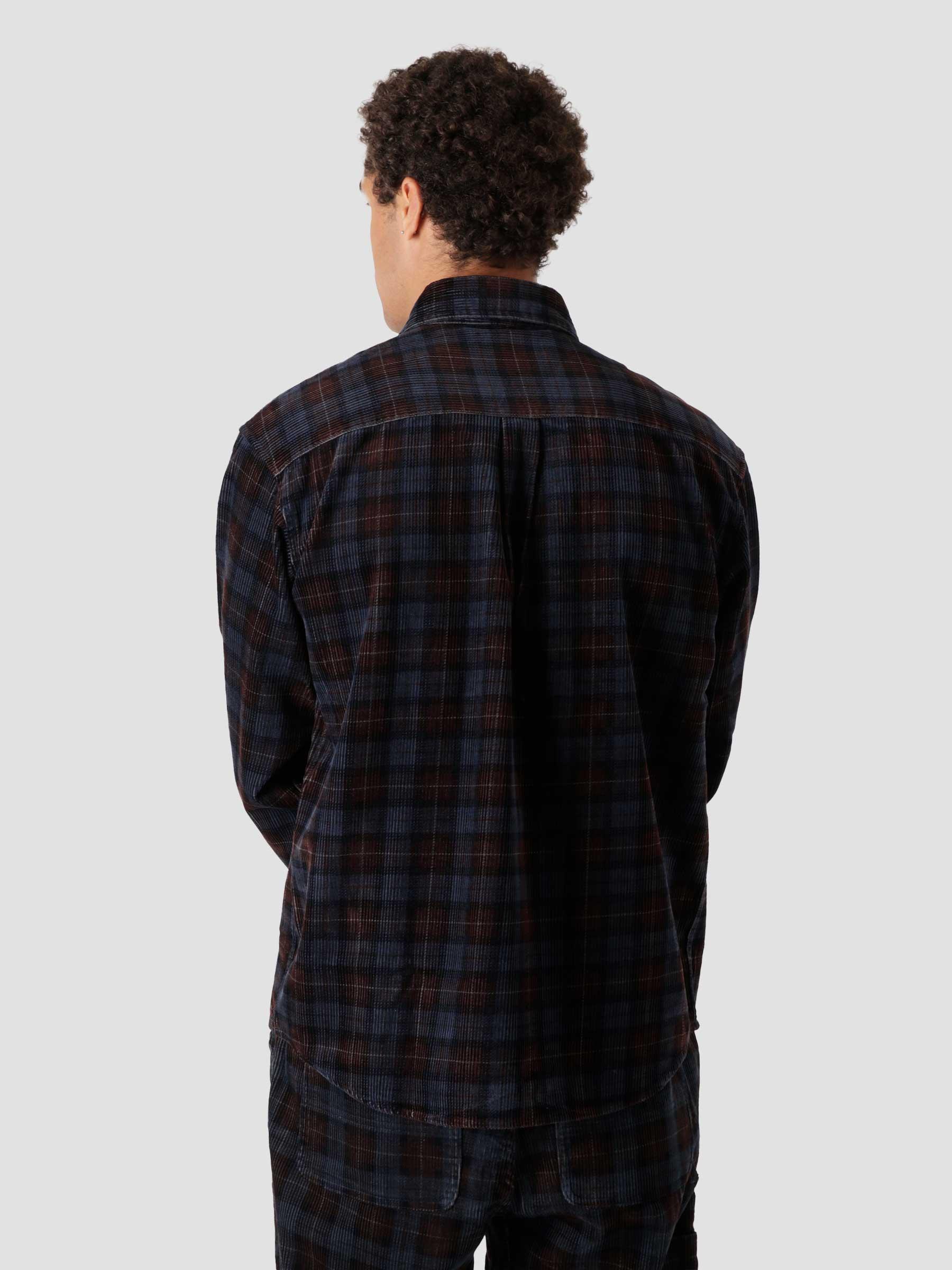 Longsleeve Flint Shirt Breck Check Print Tobacco I029442