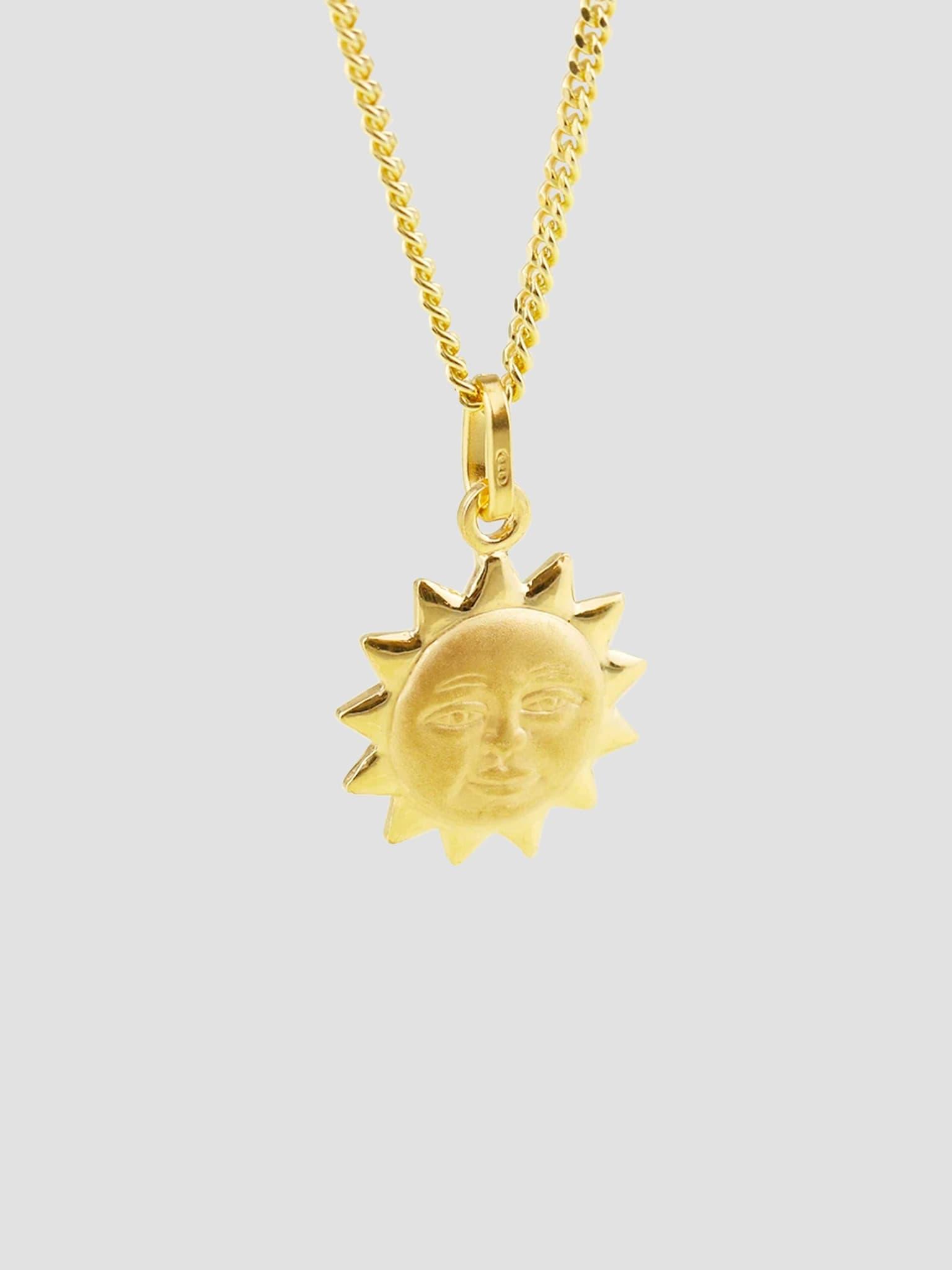 Sole Necklace 55cm 14k Gold