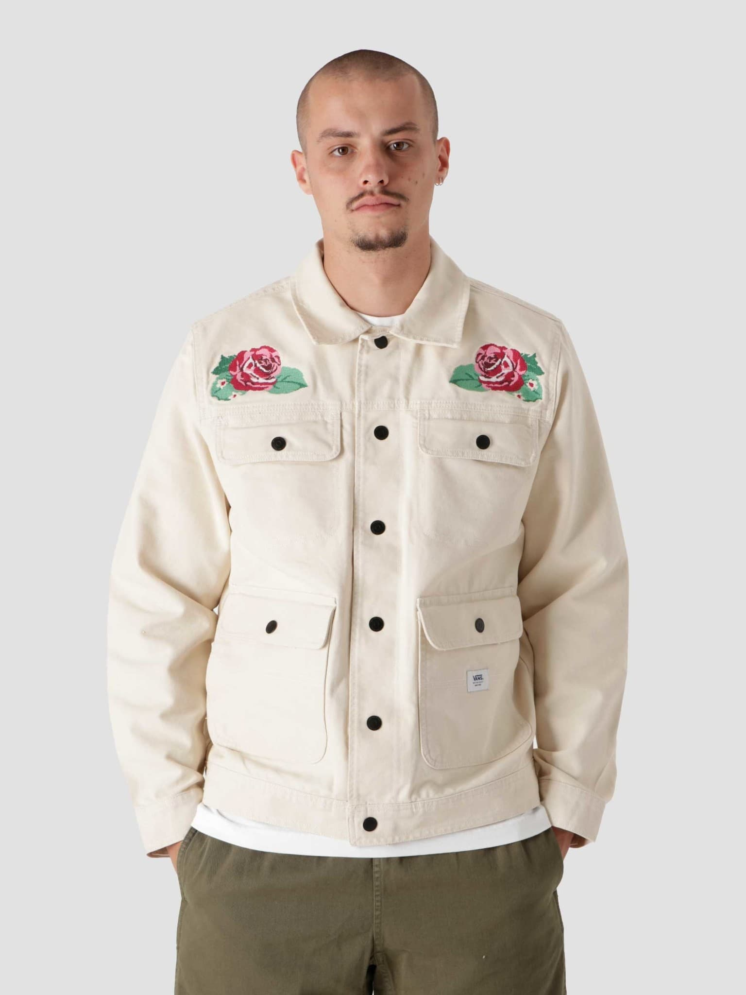 MM Anaheim Needlepoint Floral Jacket VN0A5FQ77VJ1