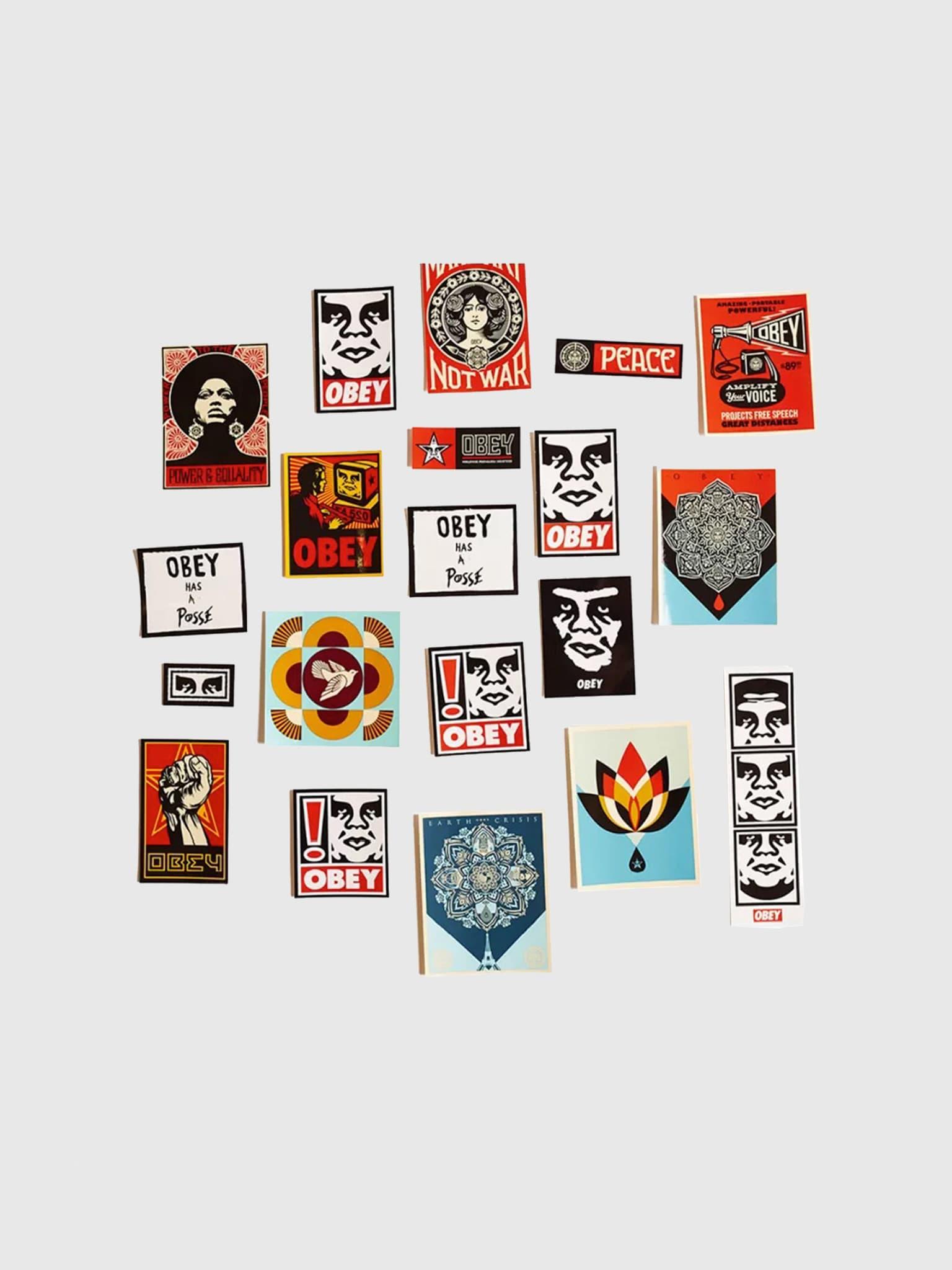 Sticker Pack 5 Assorted 100270012