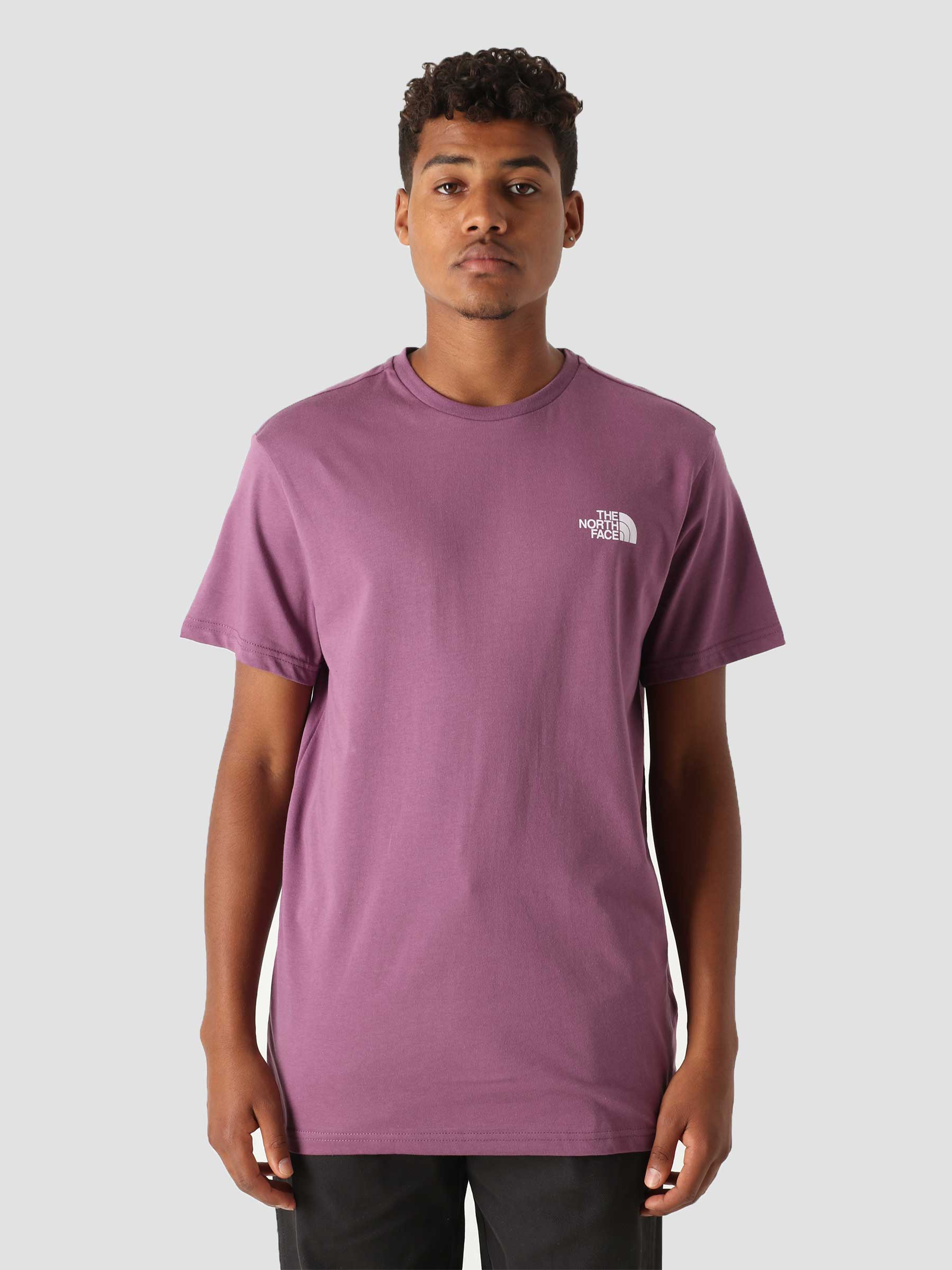 Simple Dome T-Shirt Pikes Purple NF0A2TX50H5
