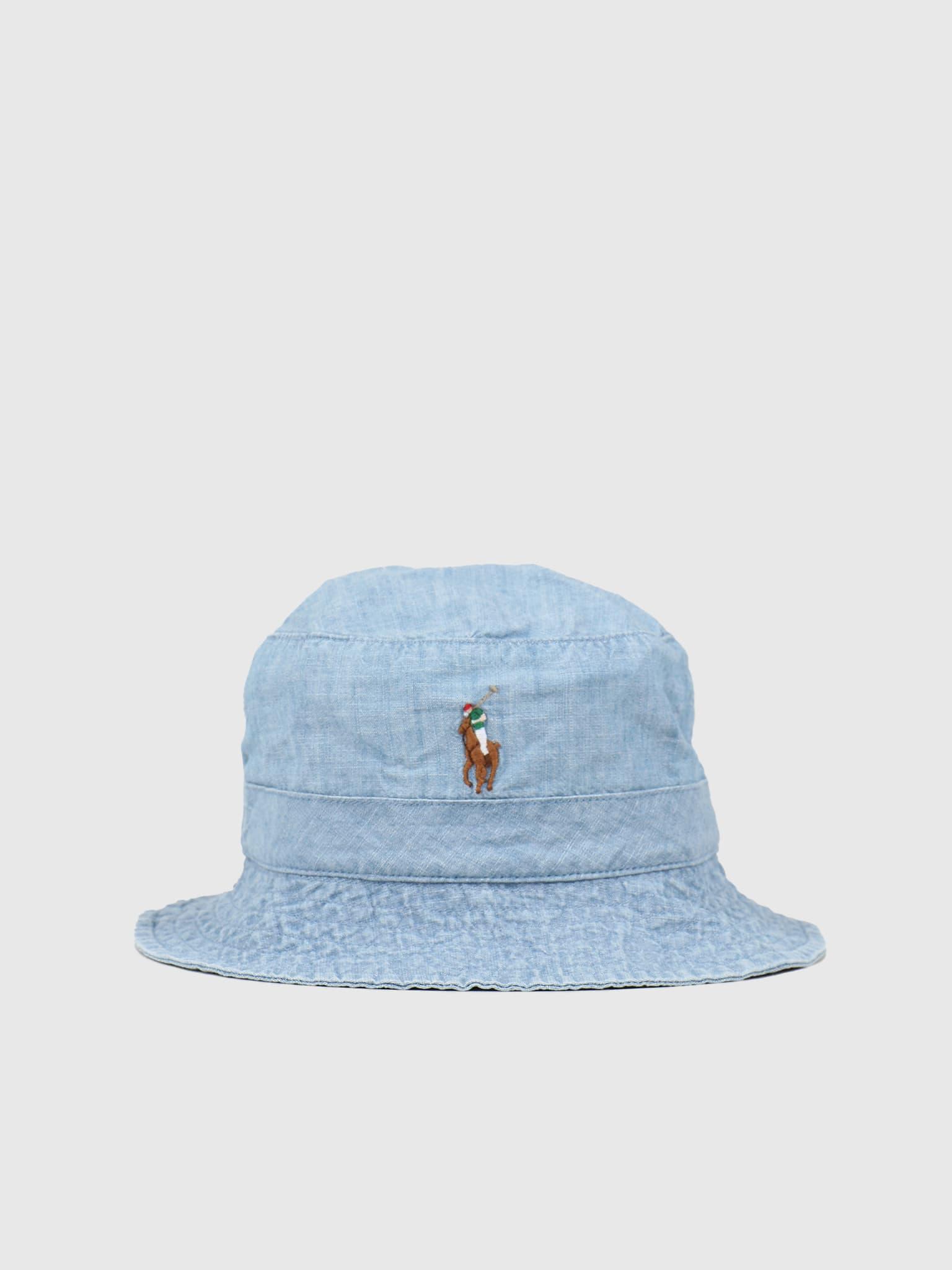 Loft Bucket Hat Blue Chambray 710798566001