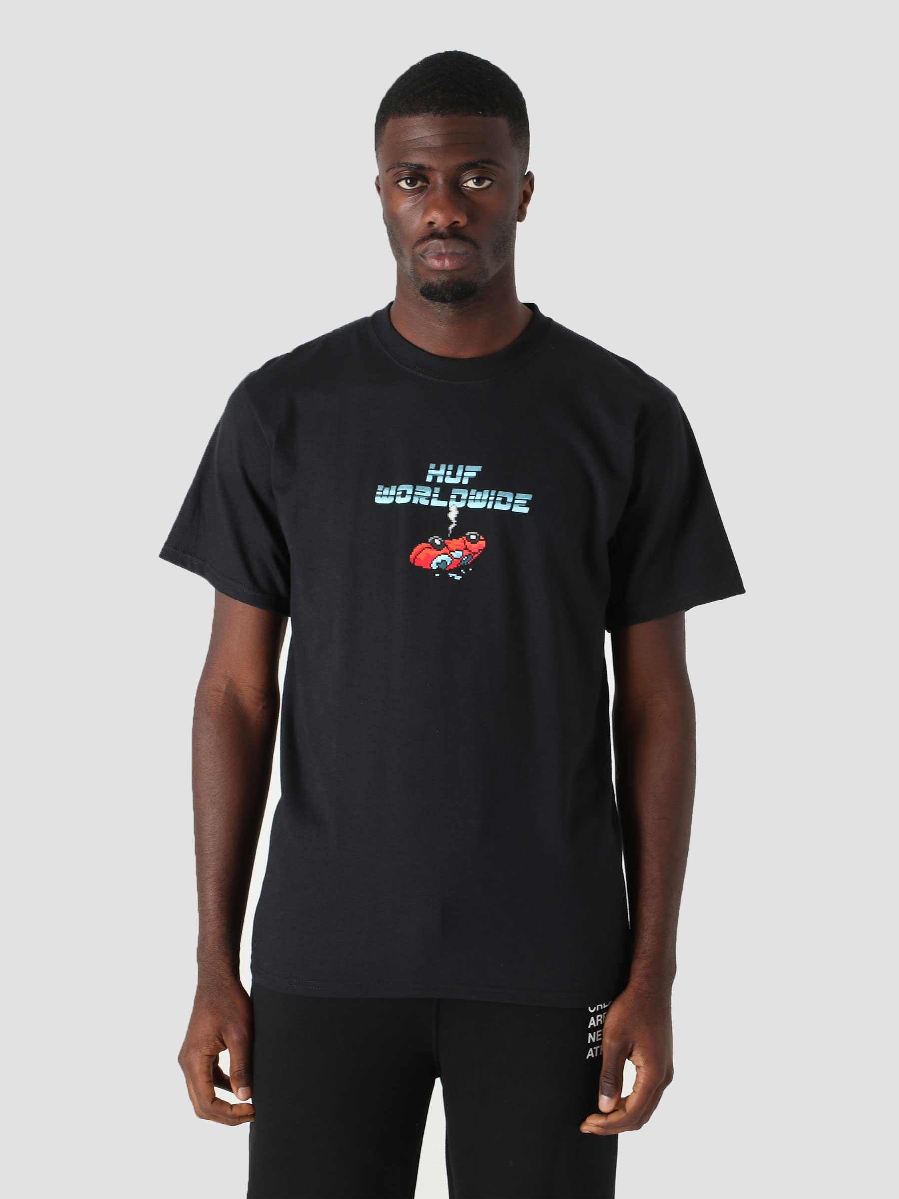 Game Over T-Shirt Black TS01523-BLACK