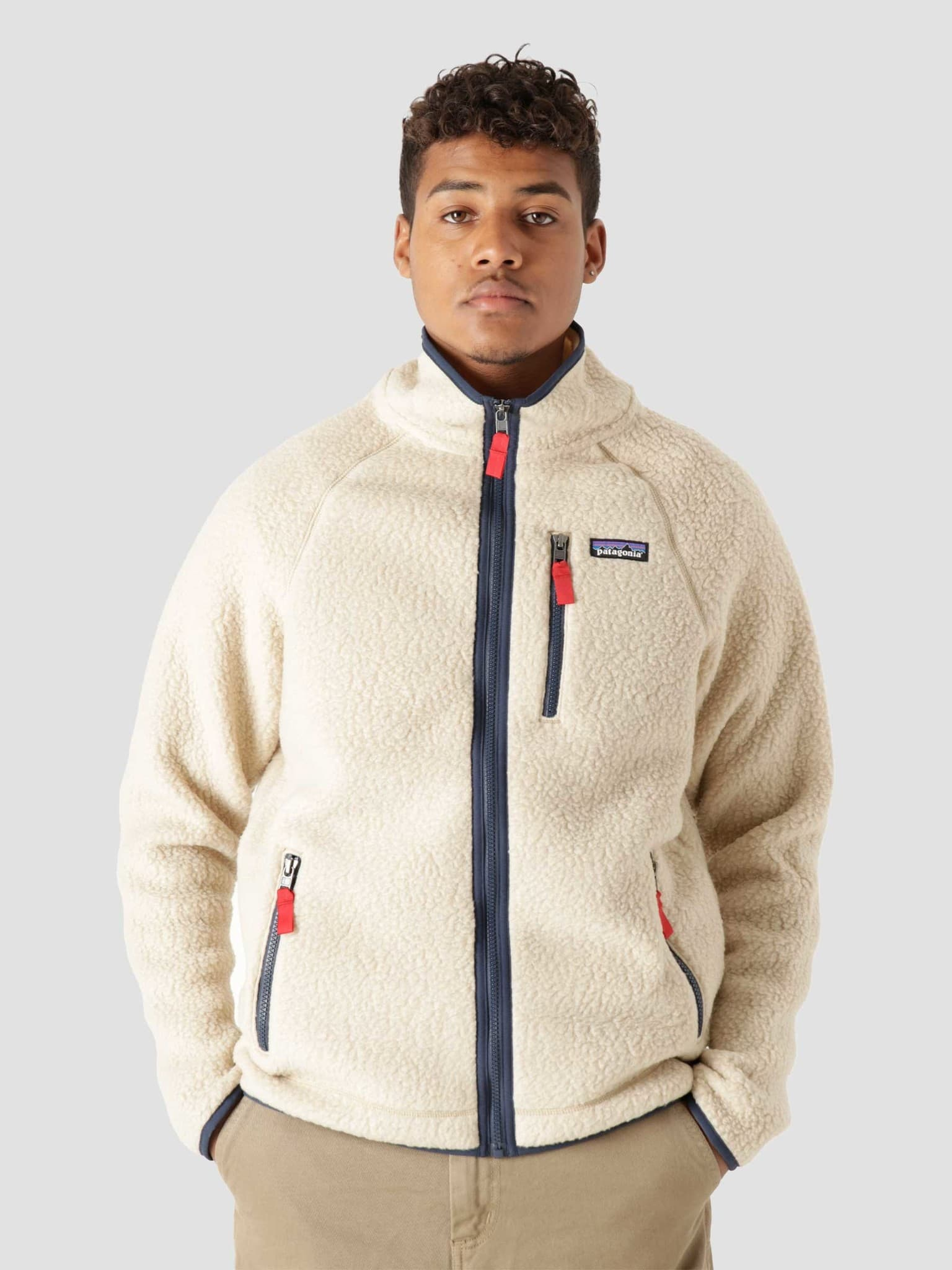 Retro Pile Jacket El Cap Khaki 22801