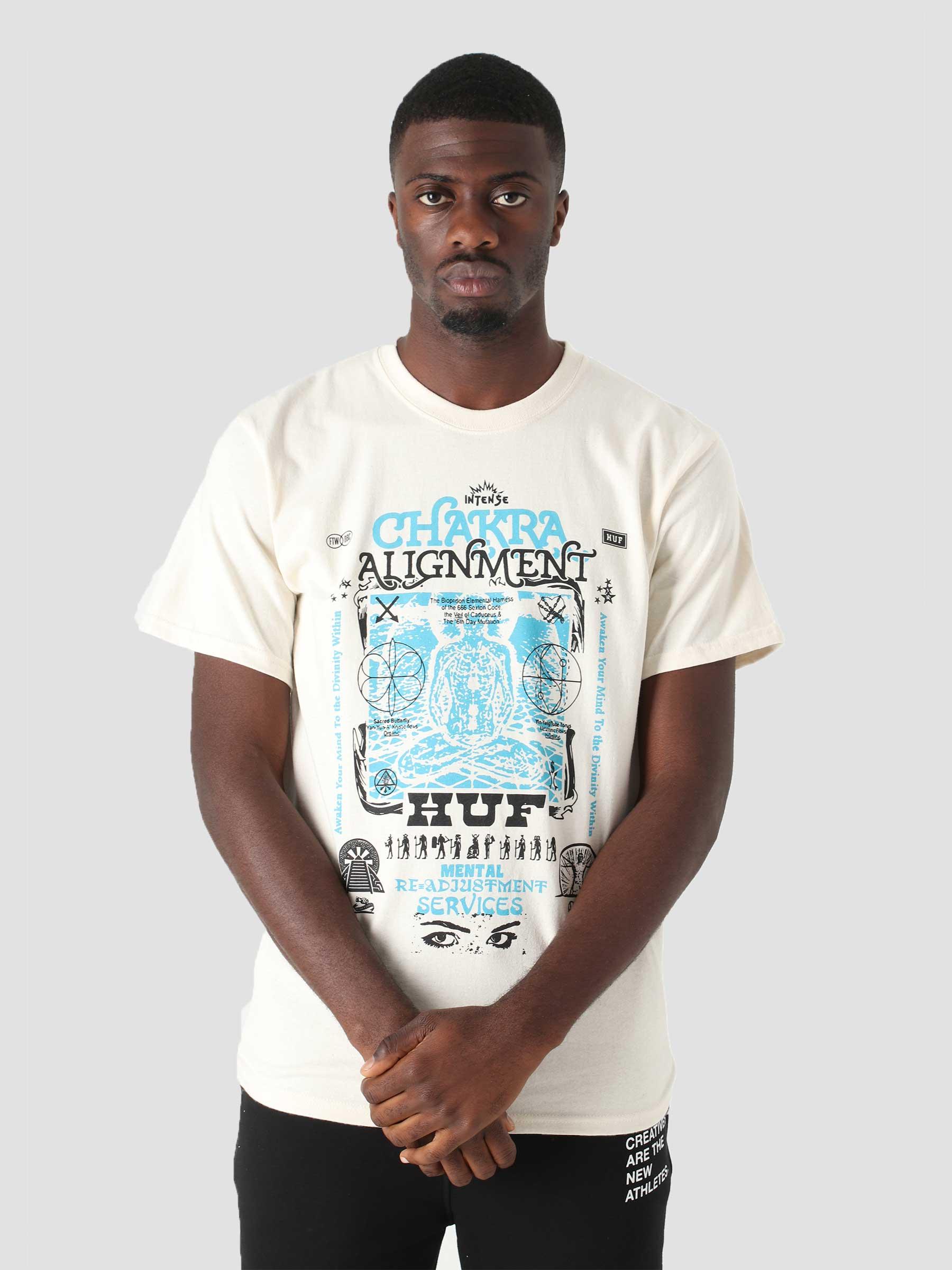 Chakra Alignment T-Shirt Natural TS01501-NATUR