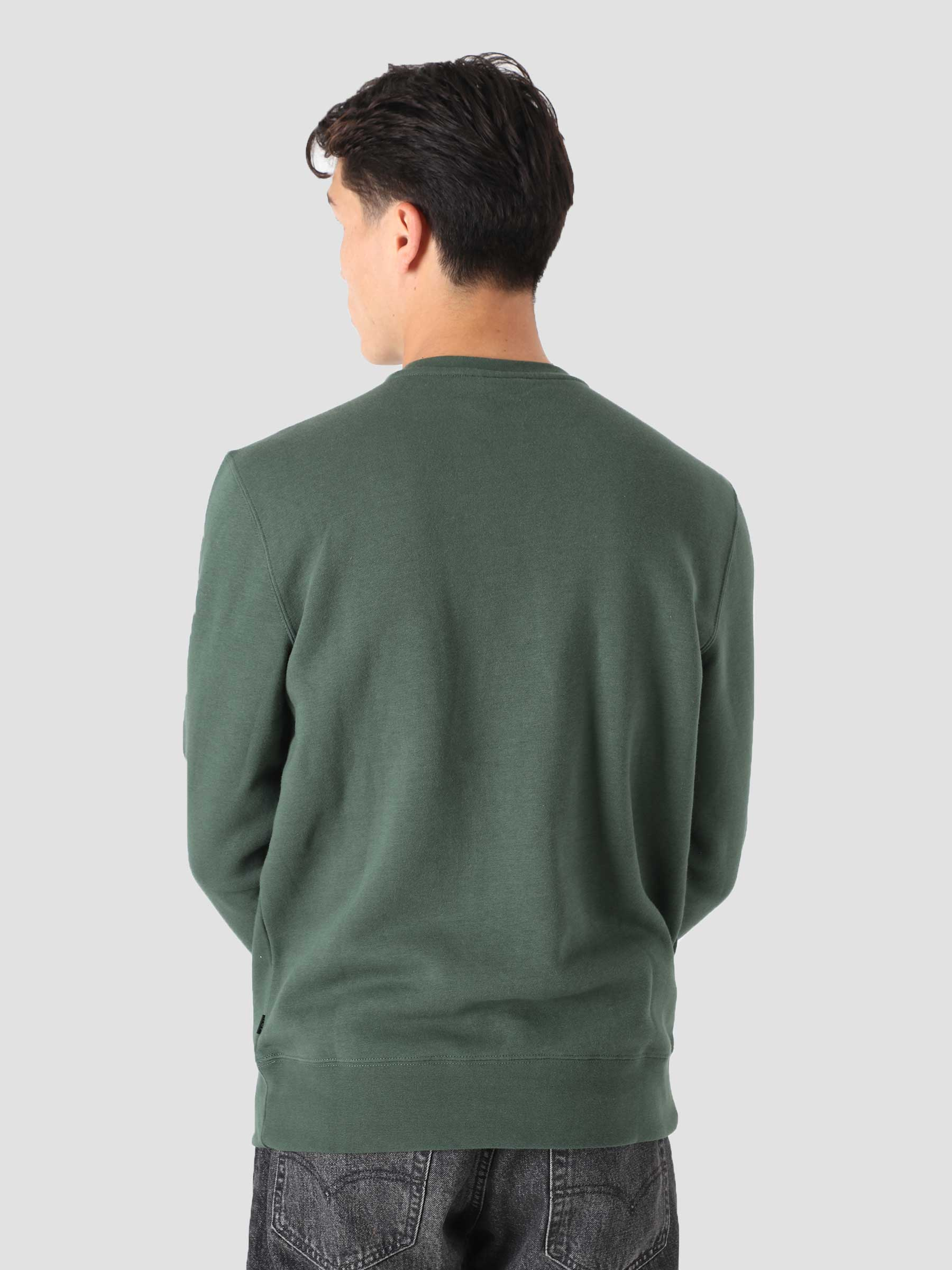 Roasted Crewneck Sweater Dark Green PF00391-DKGRN