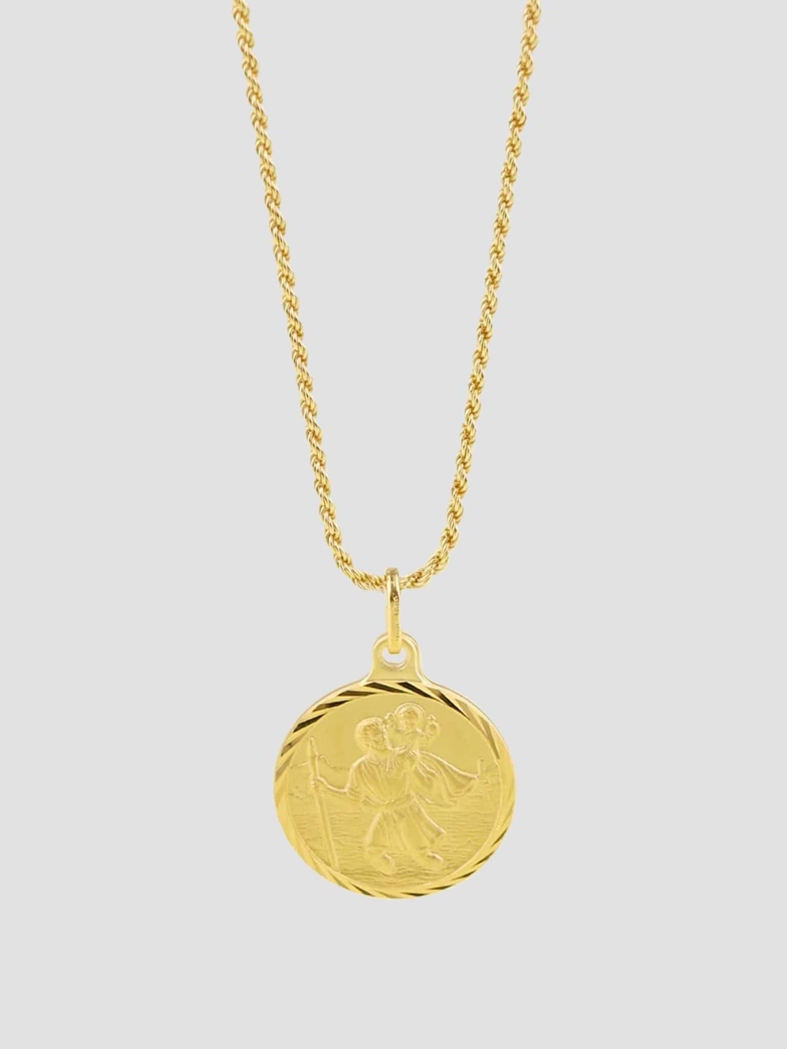 Cristoforo Necklace 55cm 14k Gold