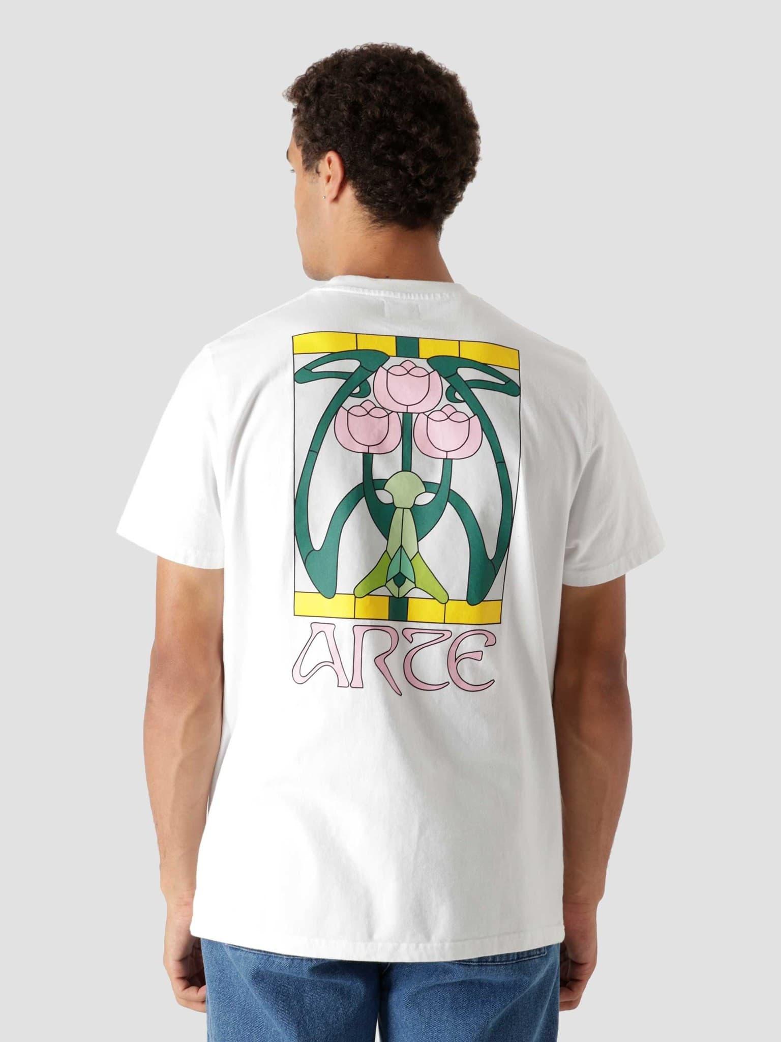 Tissot Back Roses T-Shirt White AW21-058T