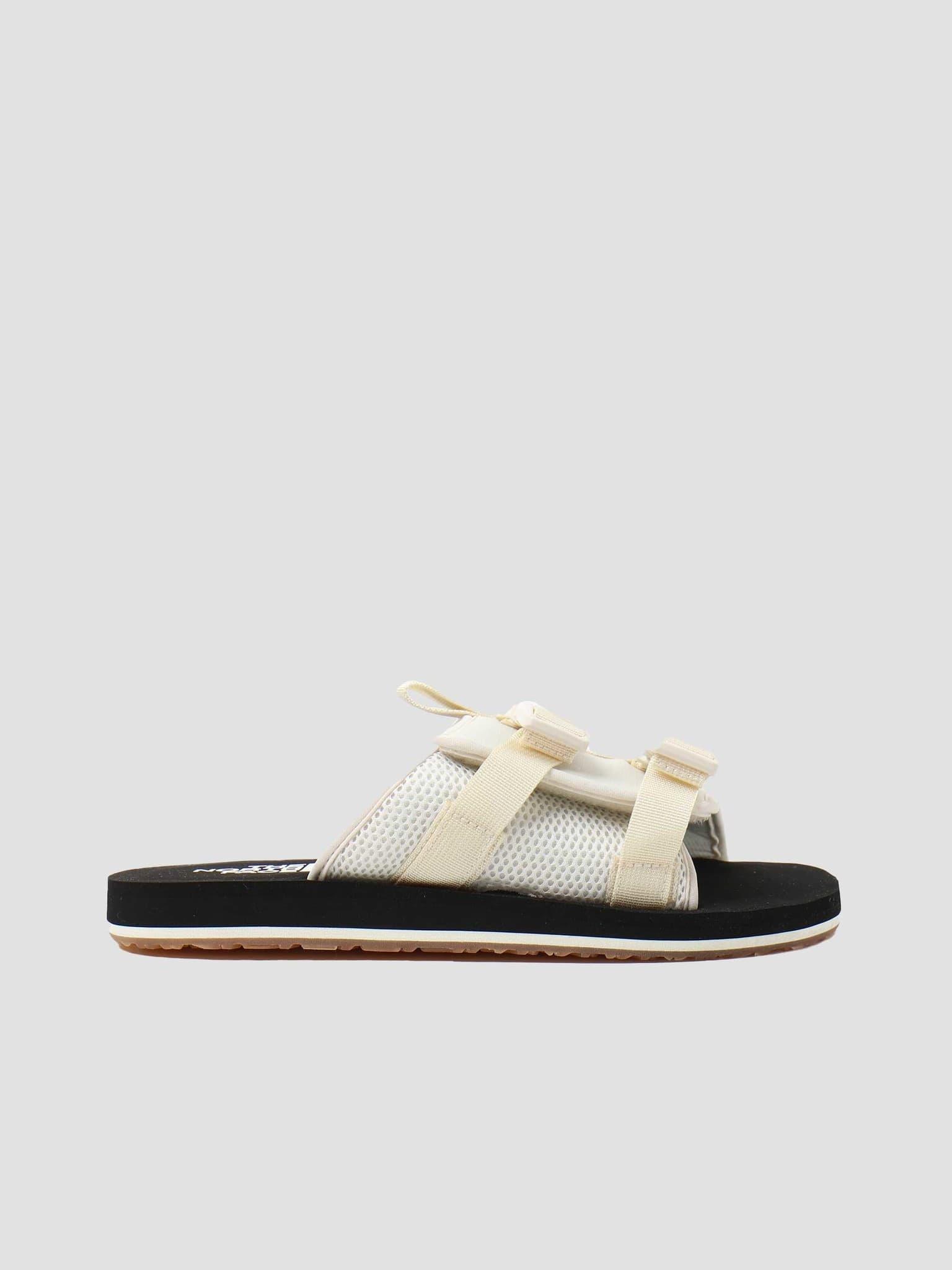 EQBC Slide Outdoor Sandal Vintage White Black NF0A46B3L0E