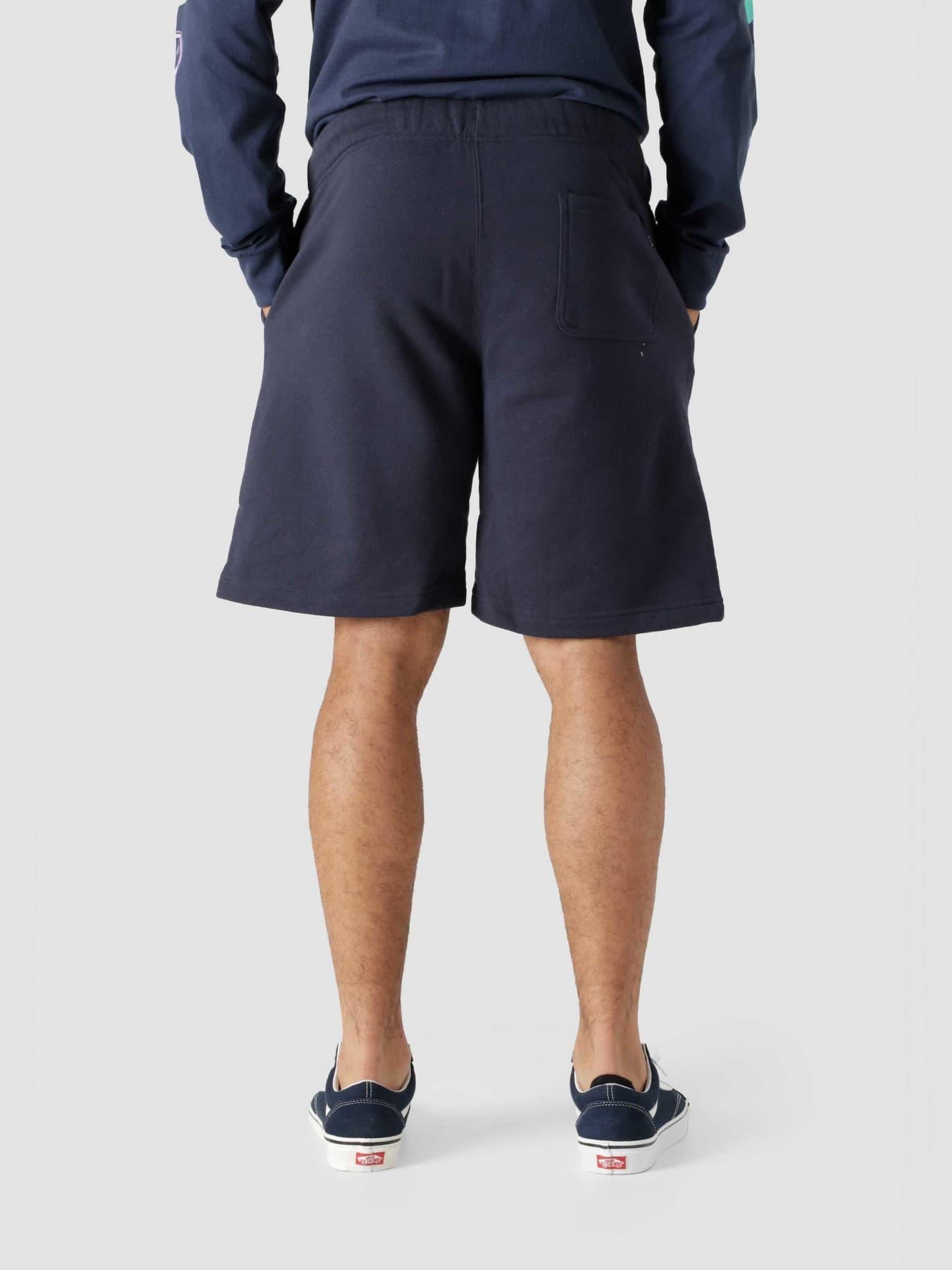 Adored Fleece Short Navy PT00185