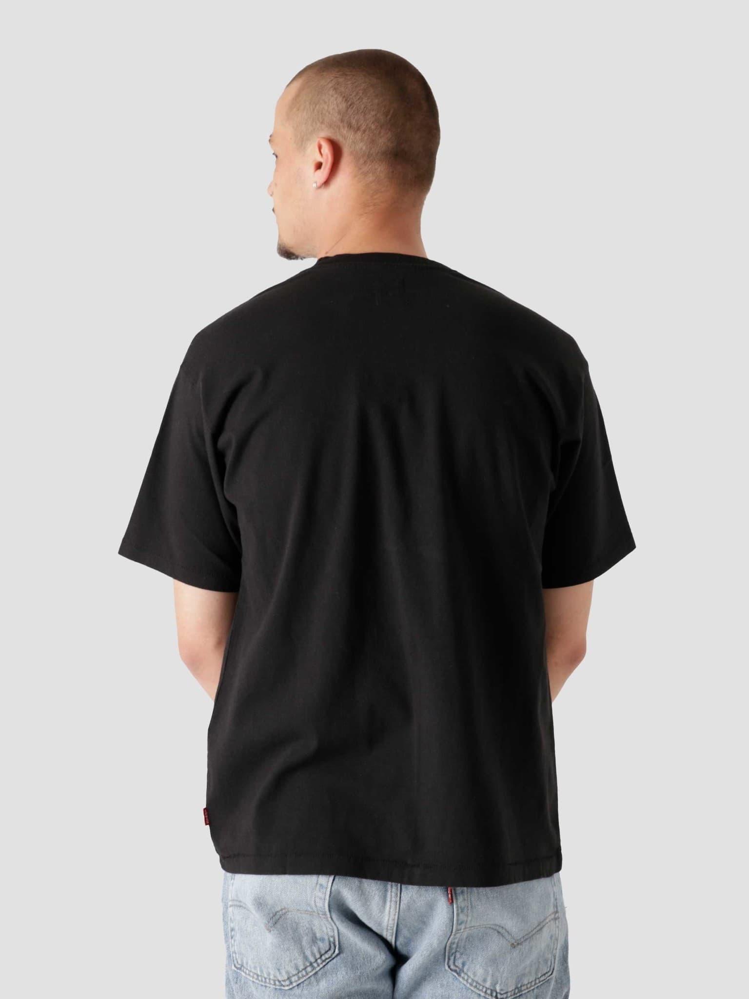 Red Tab Vintage T-Shirt Mineral Bl Blacks A0637-0001